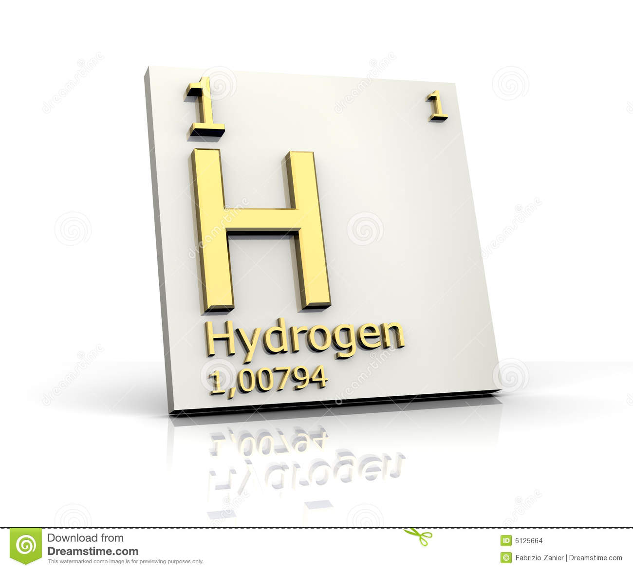 Hydrogen form periodic table of elements stock illustration hydrogen form periodic table of elements gamestrikefo Images