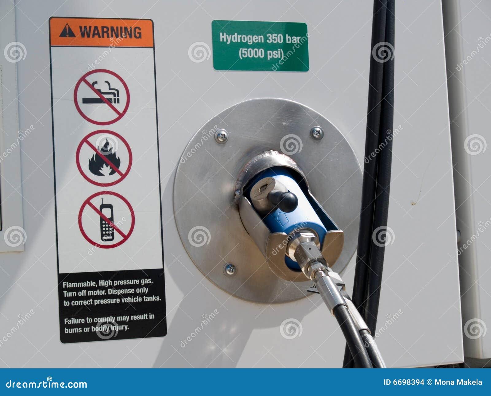 Hydrogen fuel dispenser for vehicles