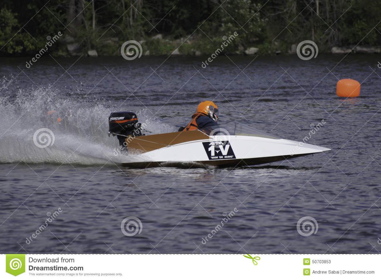 Hydroplane Boat Racing Editorial Stock Photo - Image: 50703853