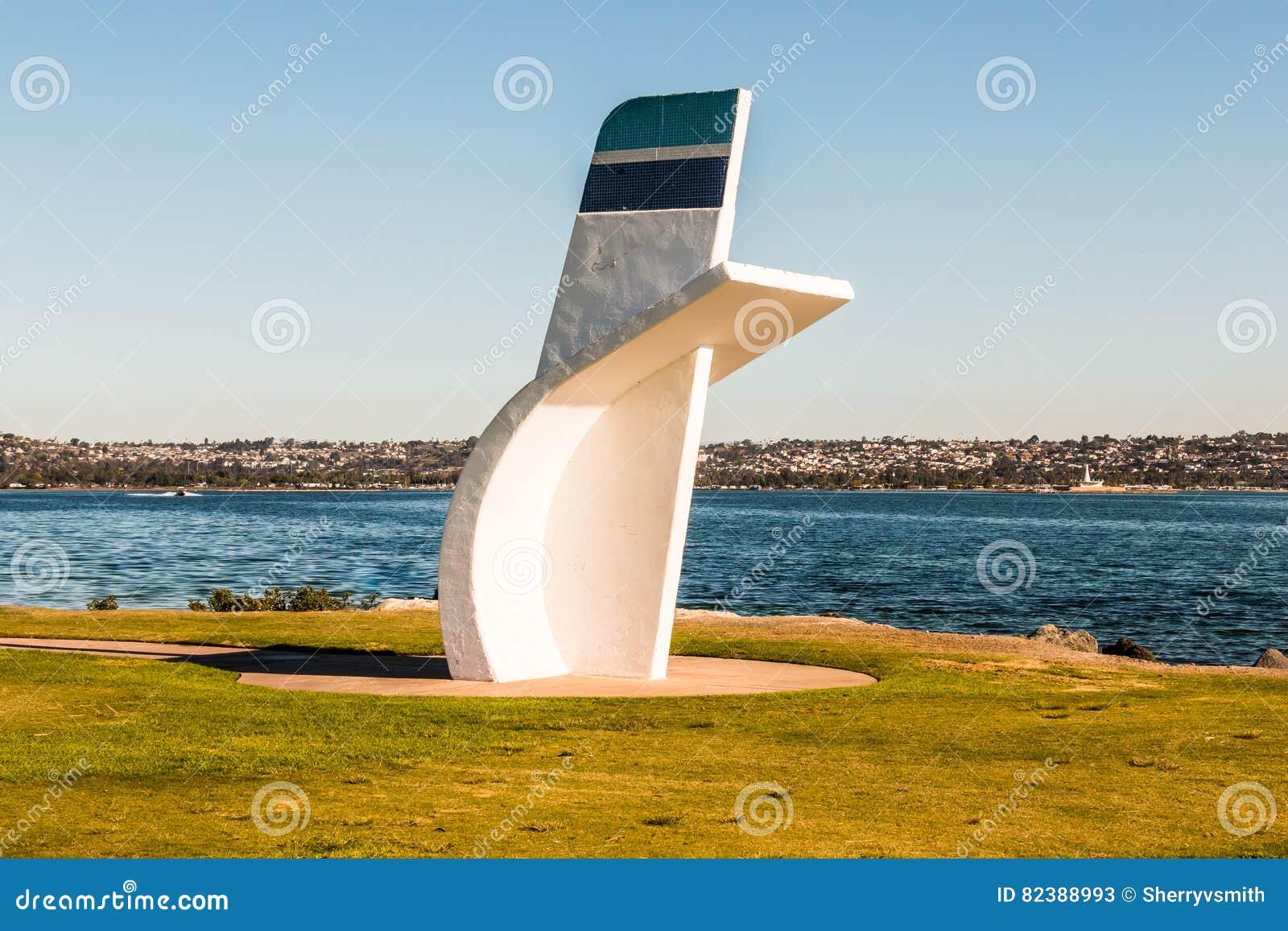 Hydroplane Legend, Bill Muncey, Memorial in San Diego