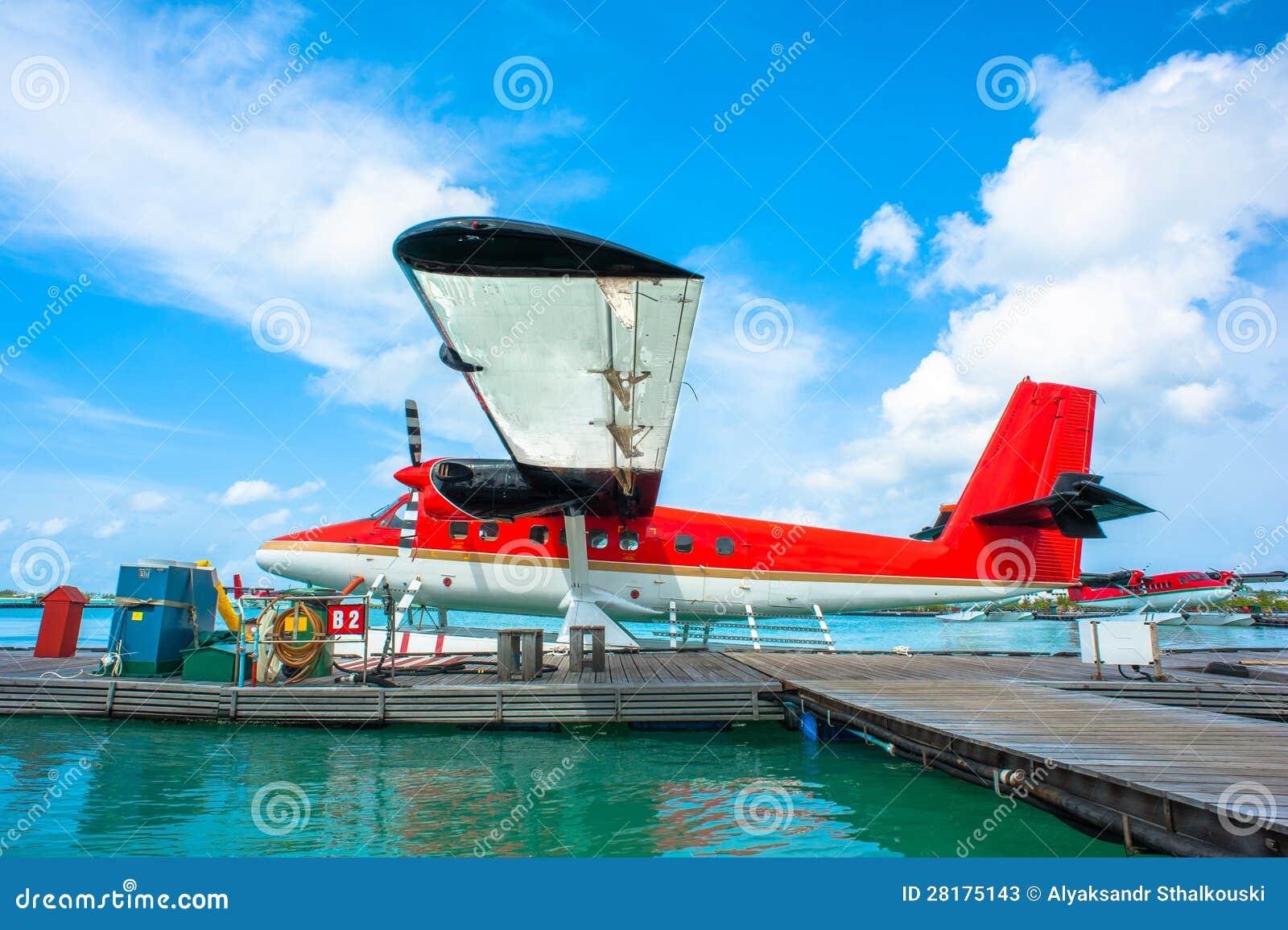 Aeroporto Male Maldive : Hydroplane at male airport maldives stock image image of glider