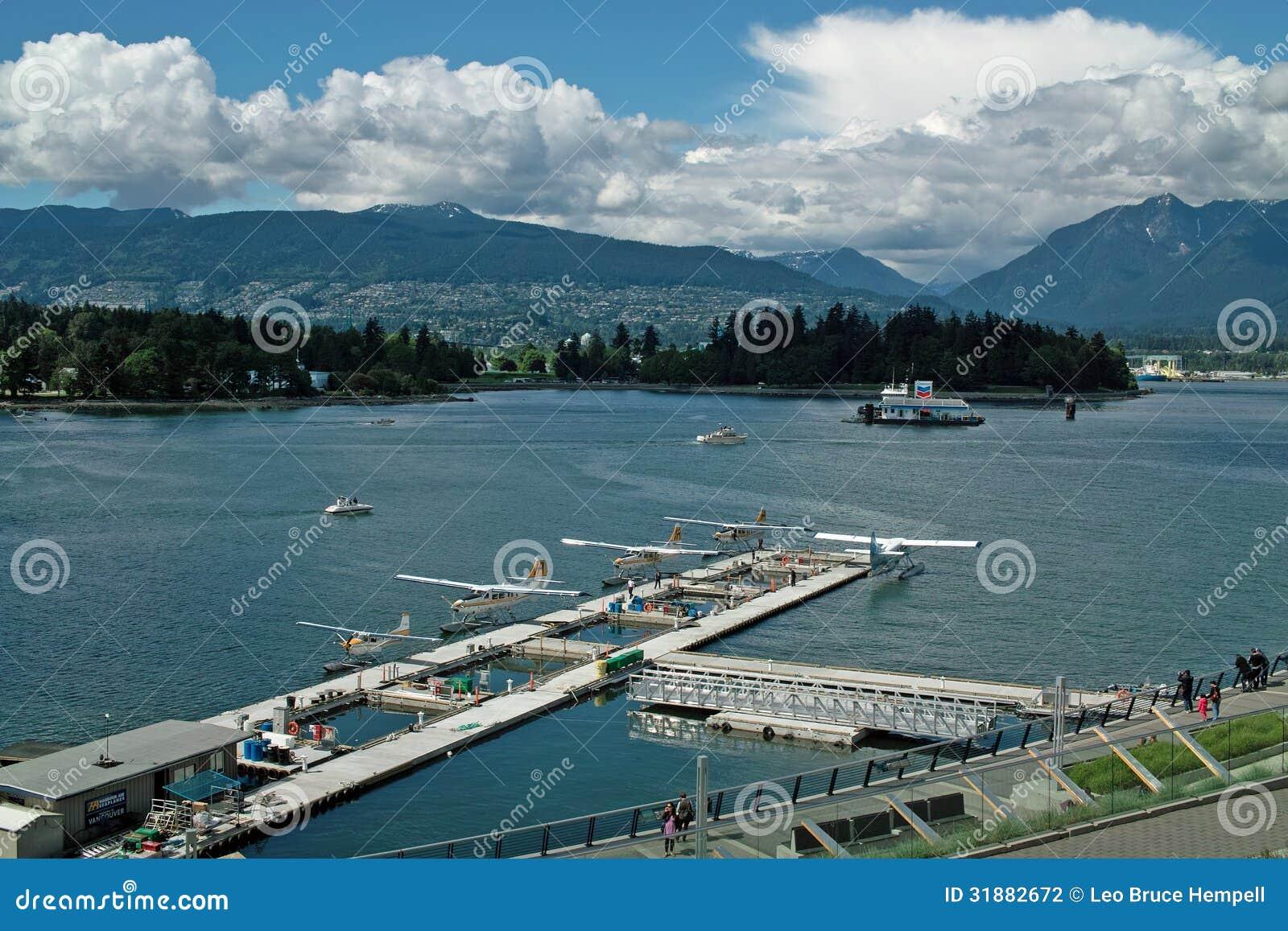 Hydroplanu lotnisko, Vancouver BC Kanada