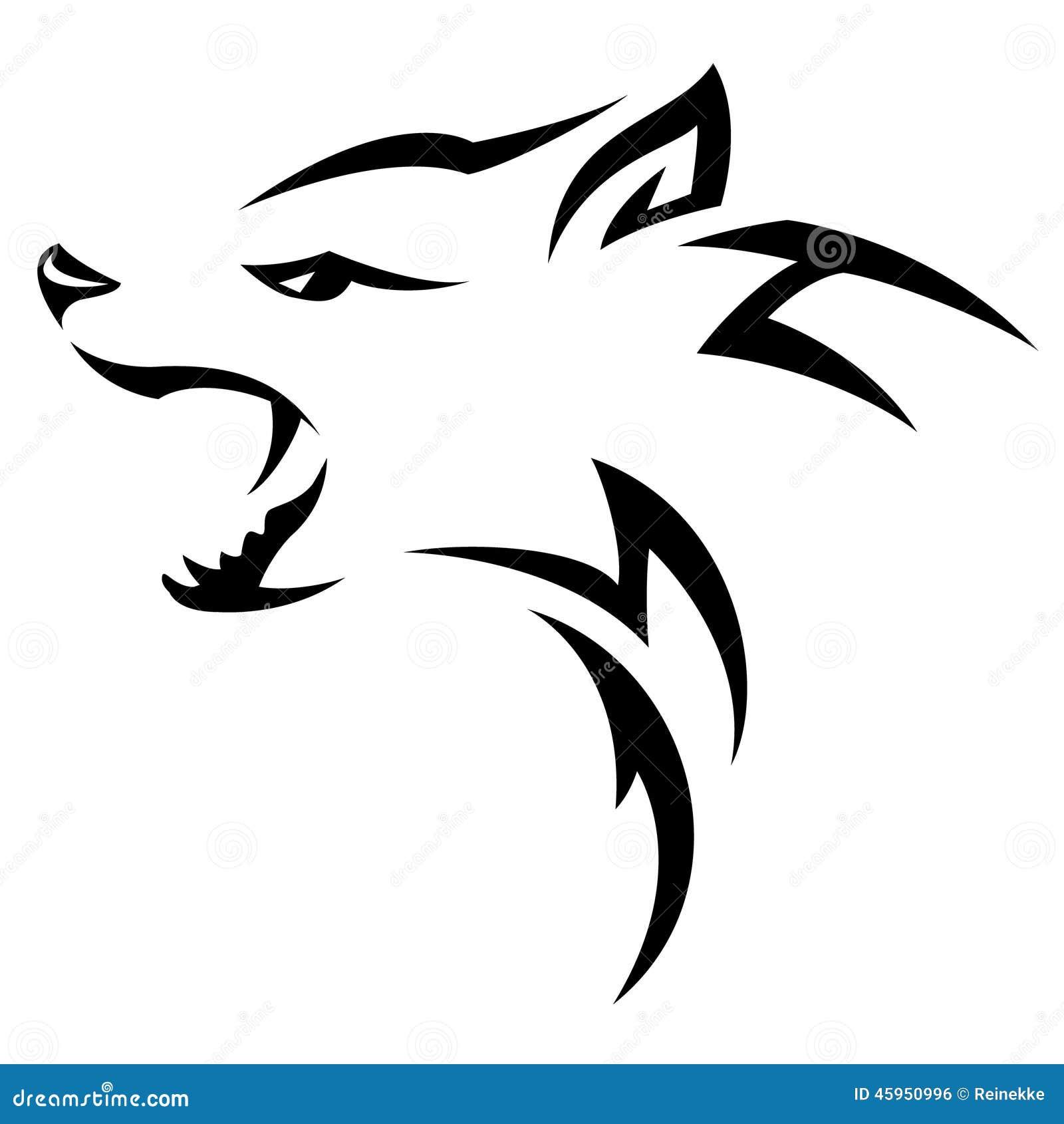 Hyena stock vector  Illustration of background, predator