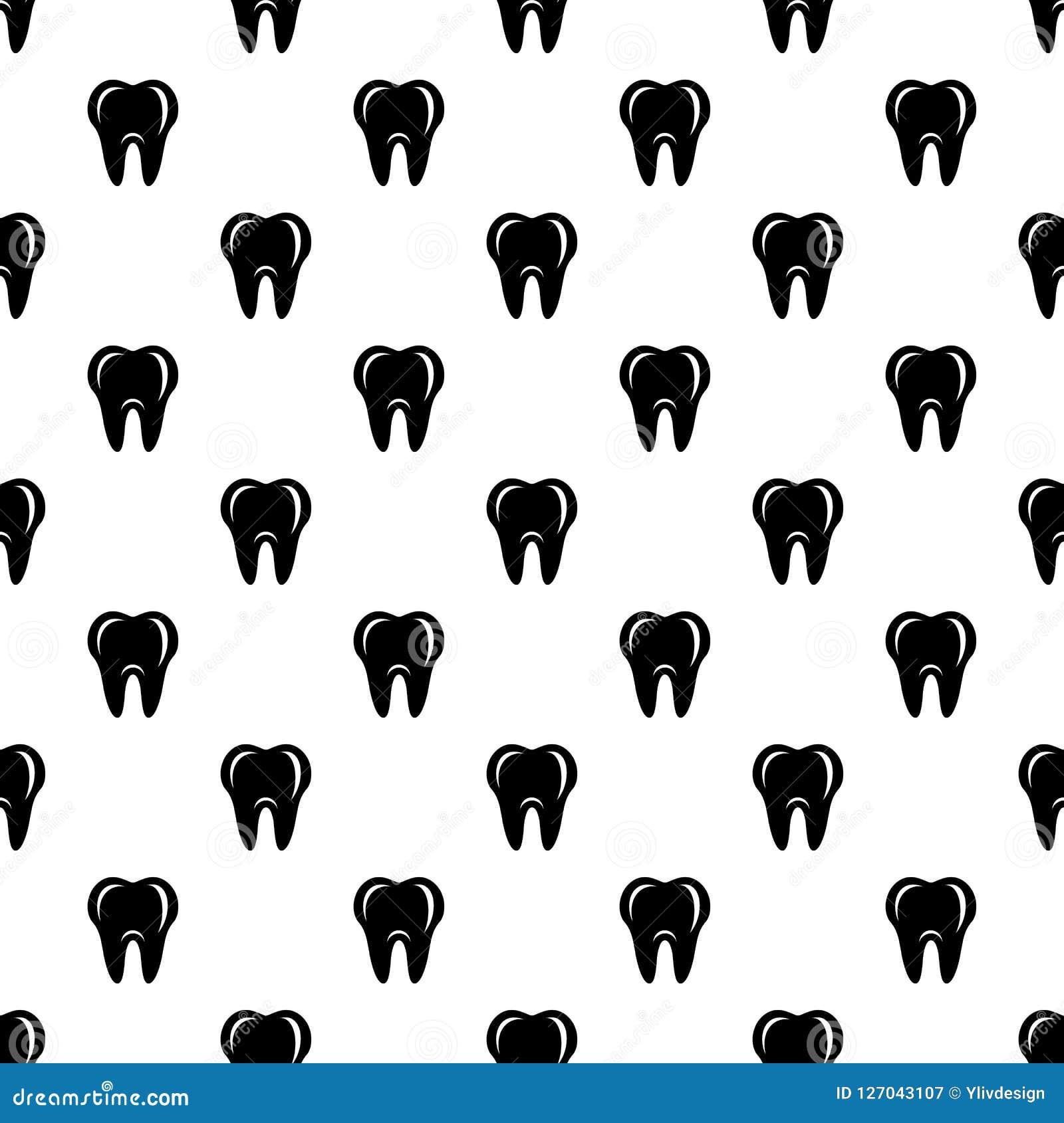Hygien av tandsymbolen, enkel stil