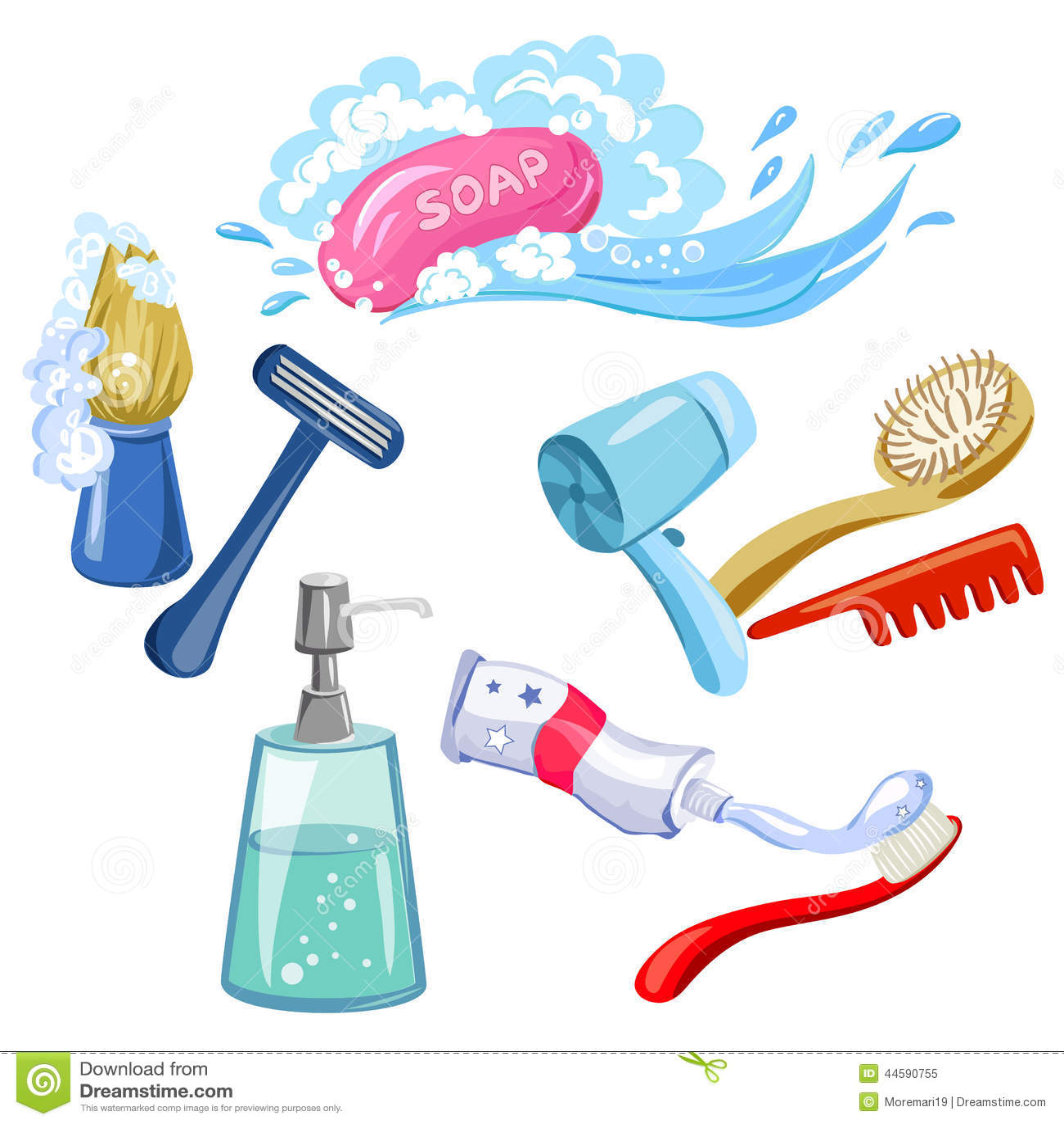 Hygien personlig omsorg, objekt