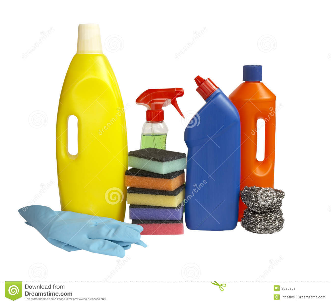Hygiene Cleaners Housework Royalty Free Stock Images