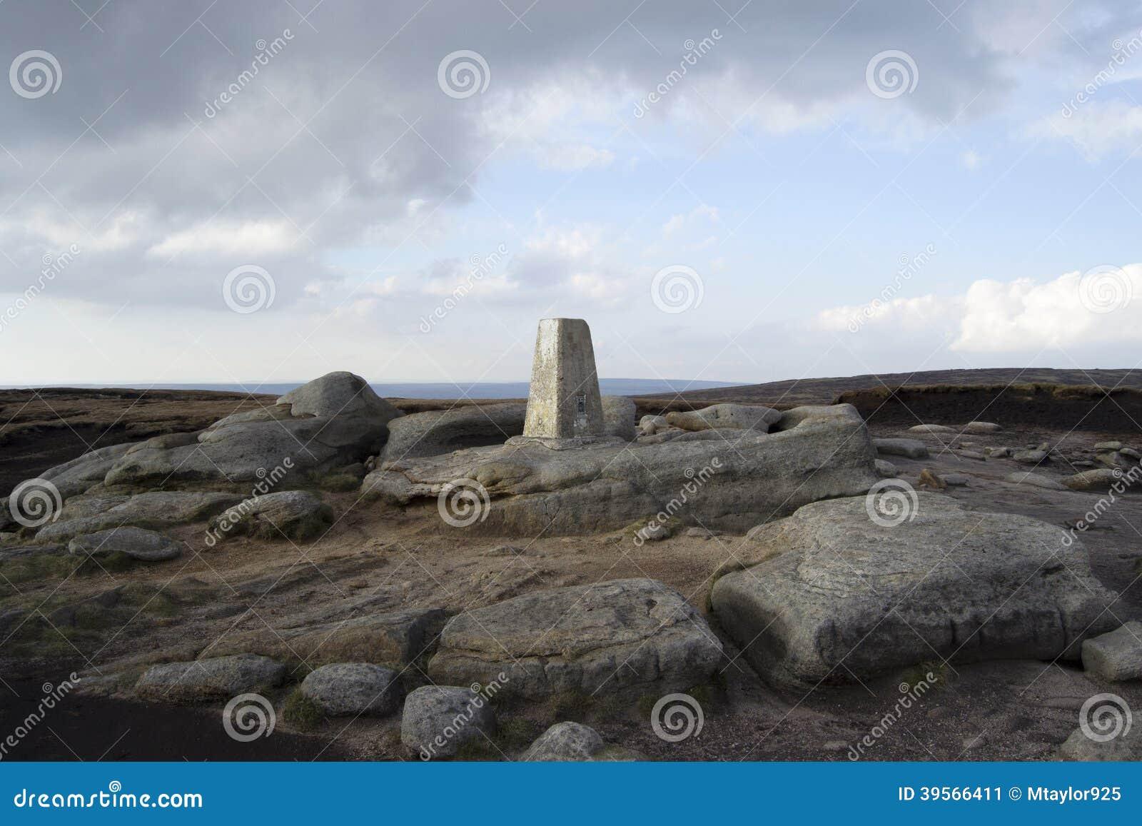 Hyllan stenar Trig-punkt 2