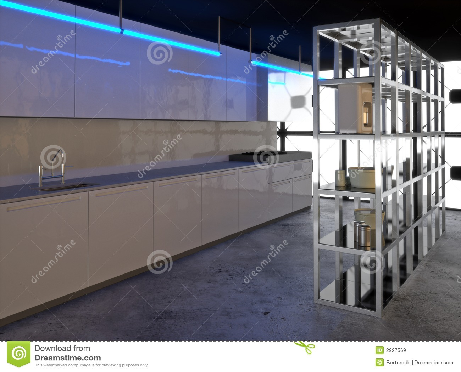 Hyper Moderne Küche 2