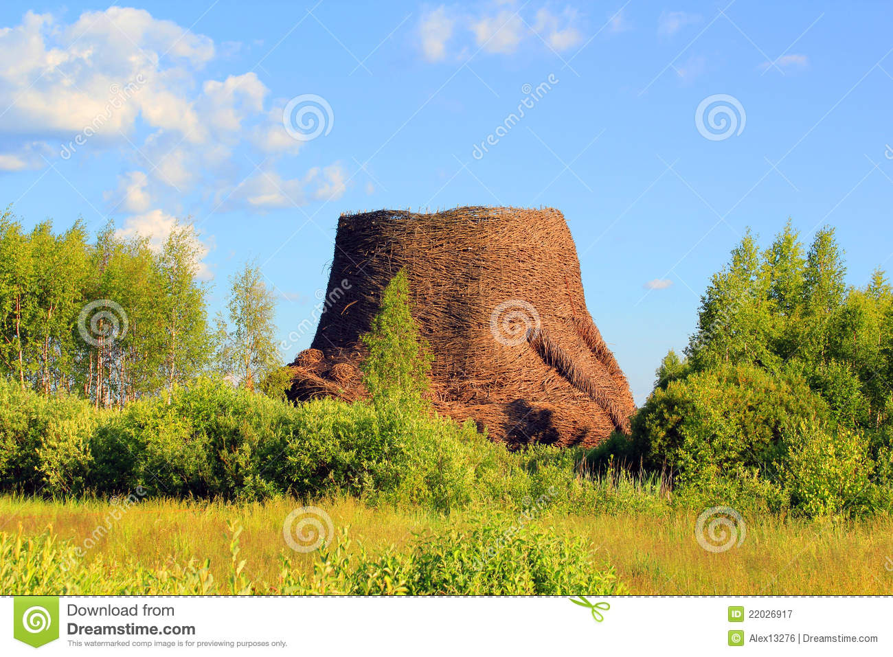 Hyperboloid Cooling Tower Royalty Free Stock Photography - Image ...