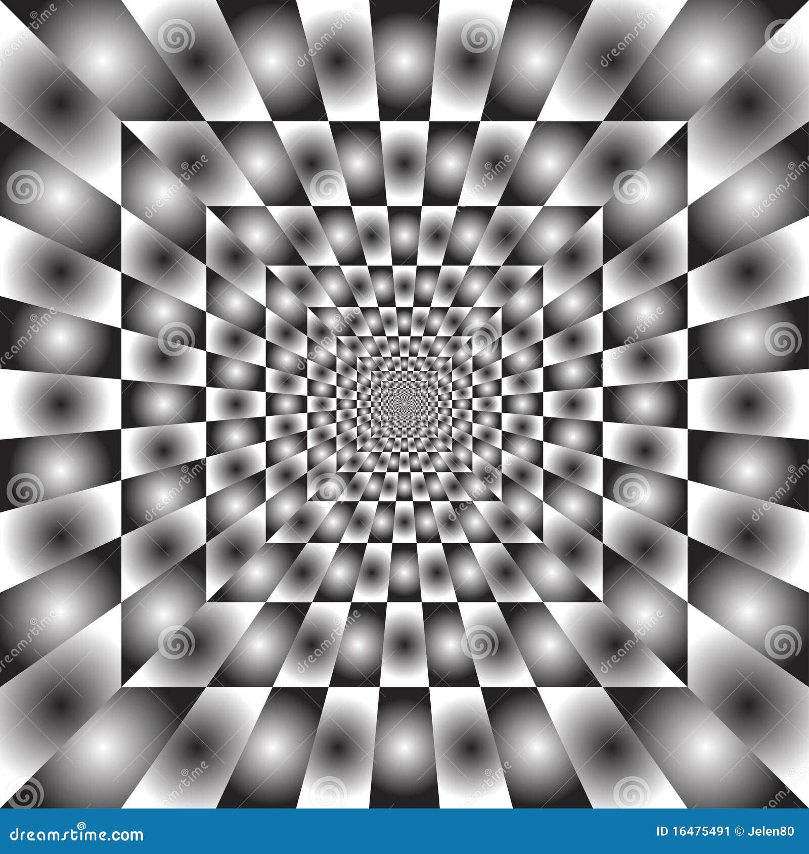 Hypnotic ray background