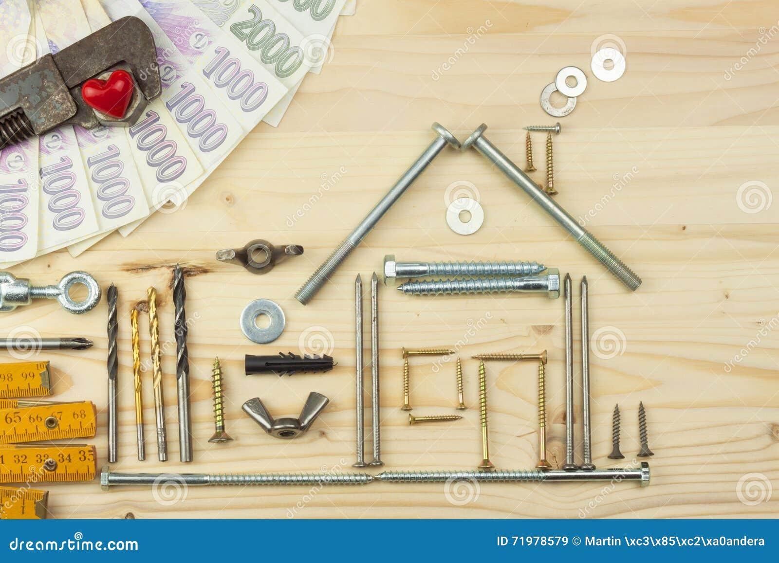 Hypothèque Pour Construire Une Maison Pour La Famille Vrai