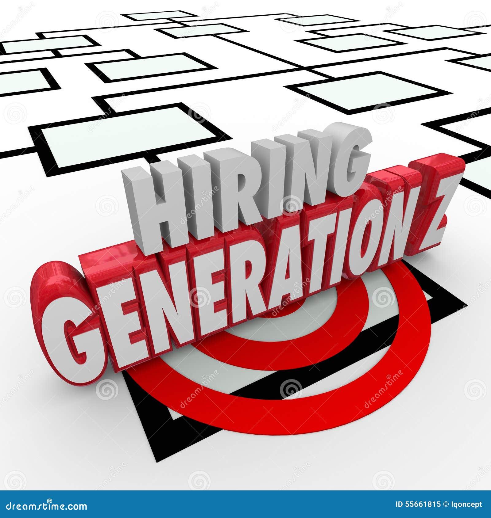 Hyra för ungdomarför utveckling Z det Org för arbetare anställda diagrammet