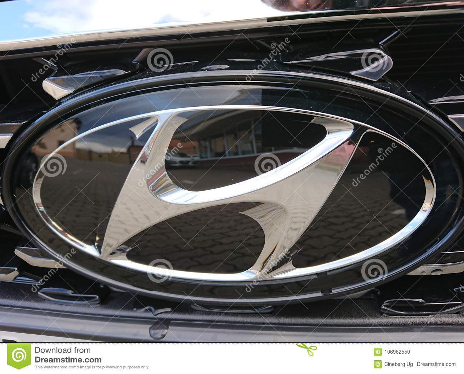 Hyundai Car Symbol Editorial Image Image Of Drive Motor 106962550