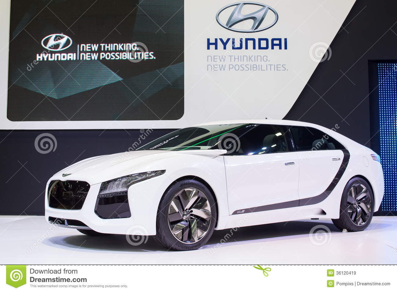 Hyundai concept new thinking new possibilities at the 30th for Concept expo