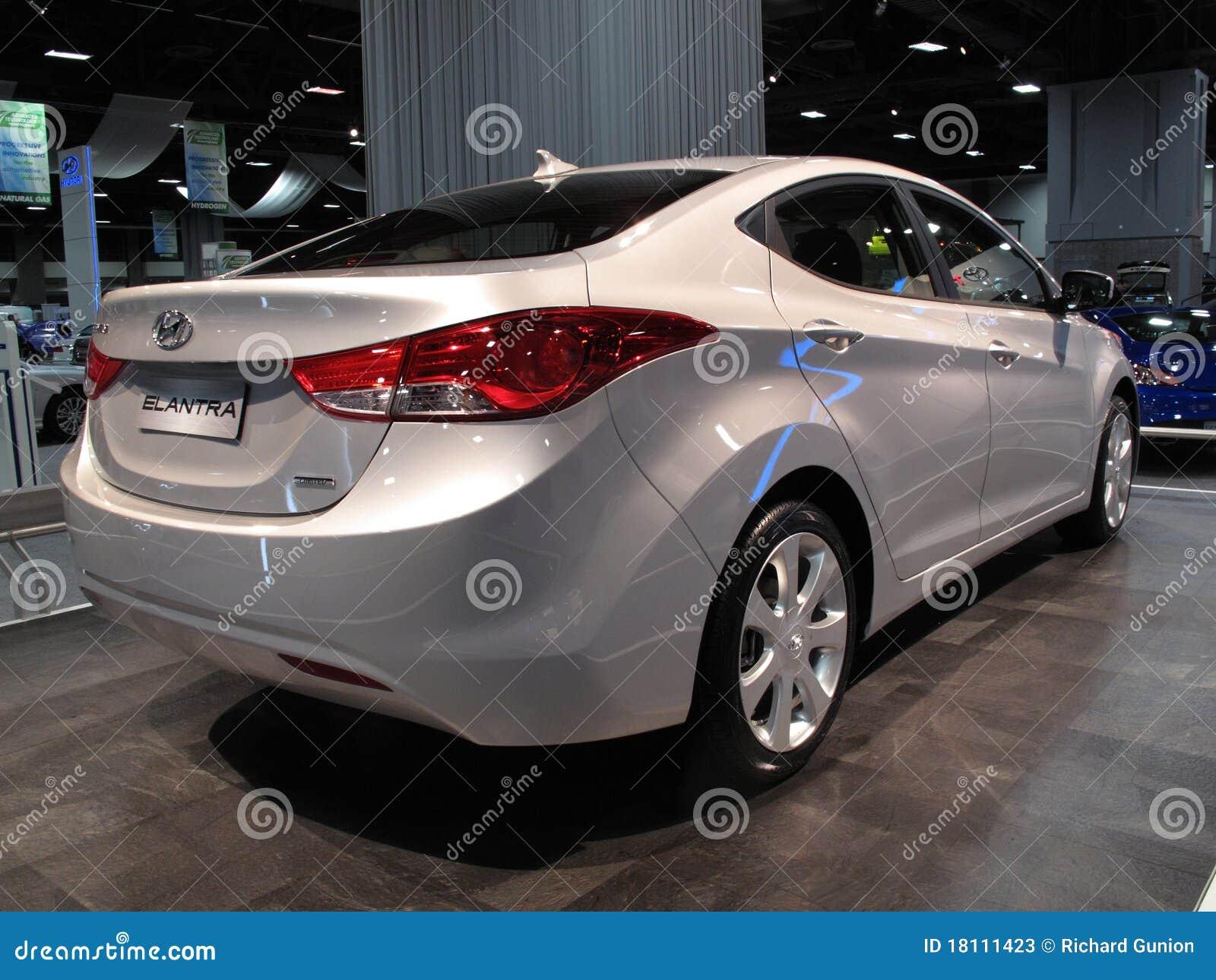 Hyundai Elantra Sedan Editorial Stock Photo Image Of