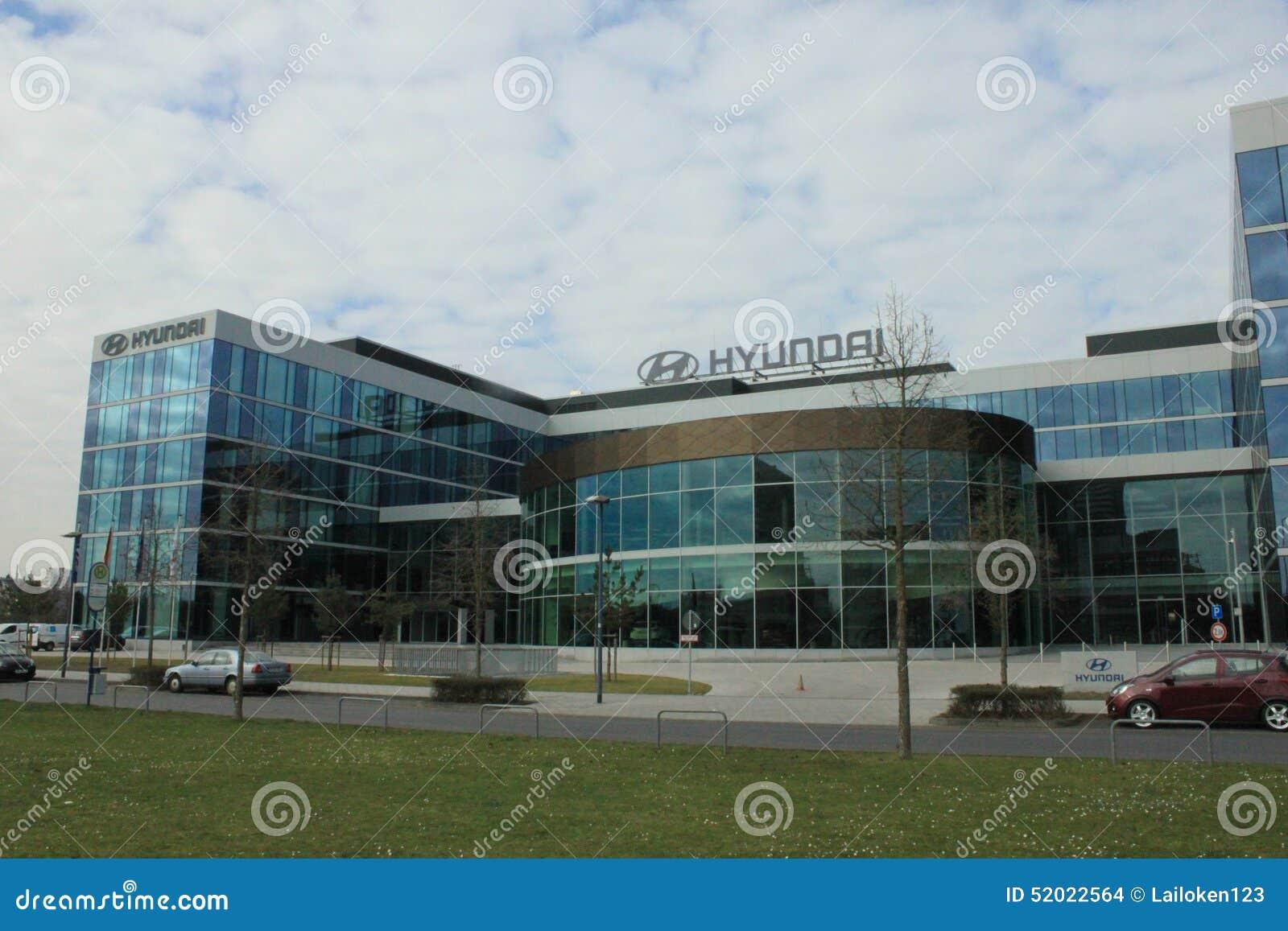 Hyundai europe base editorial stock image image of for Hyundai motor finance corporate office
