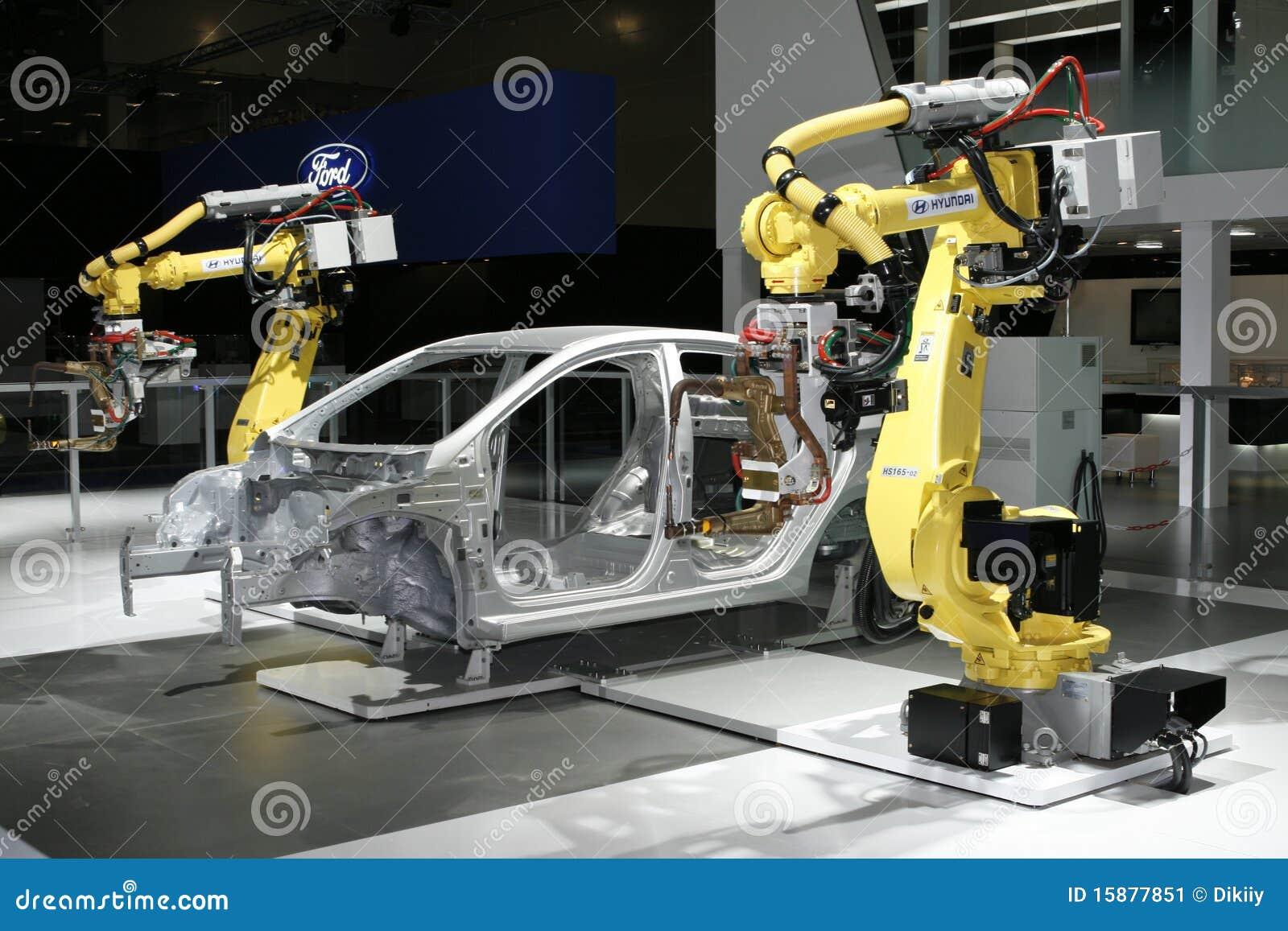 Hyundai Industrial Robots For Welding amp Handling Editorial