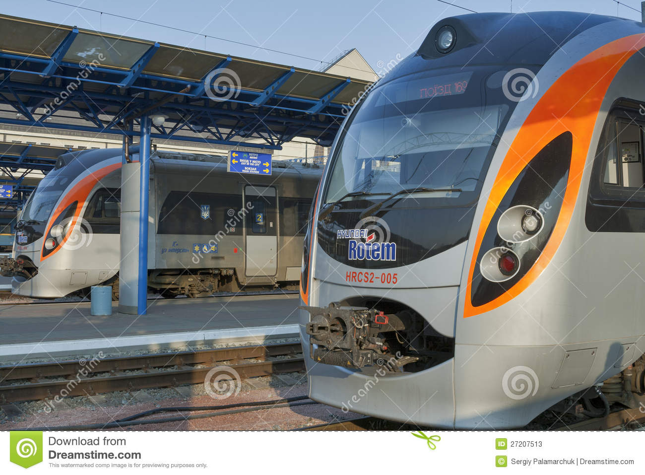Hyundai Rotem interested in further service of Ukrainian high-speed trains