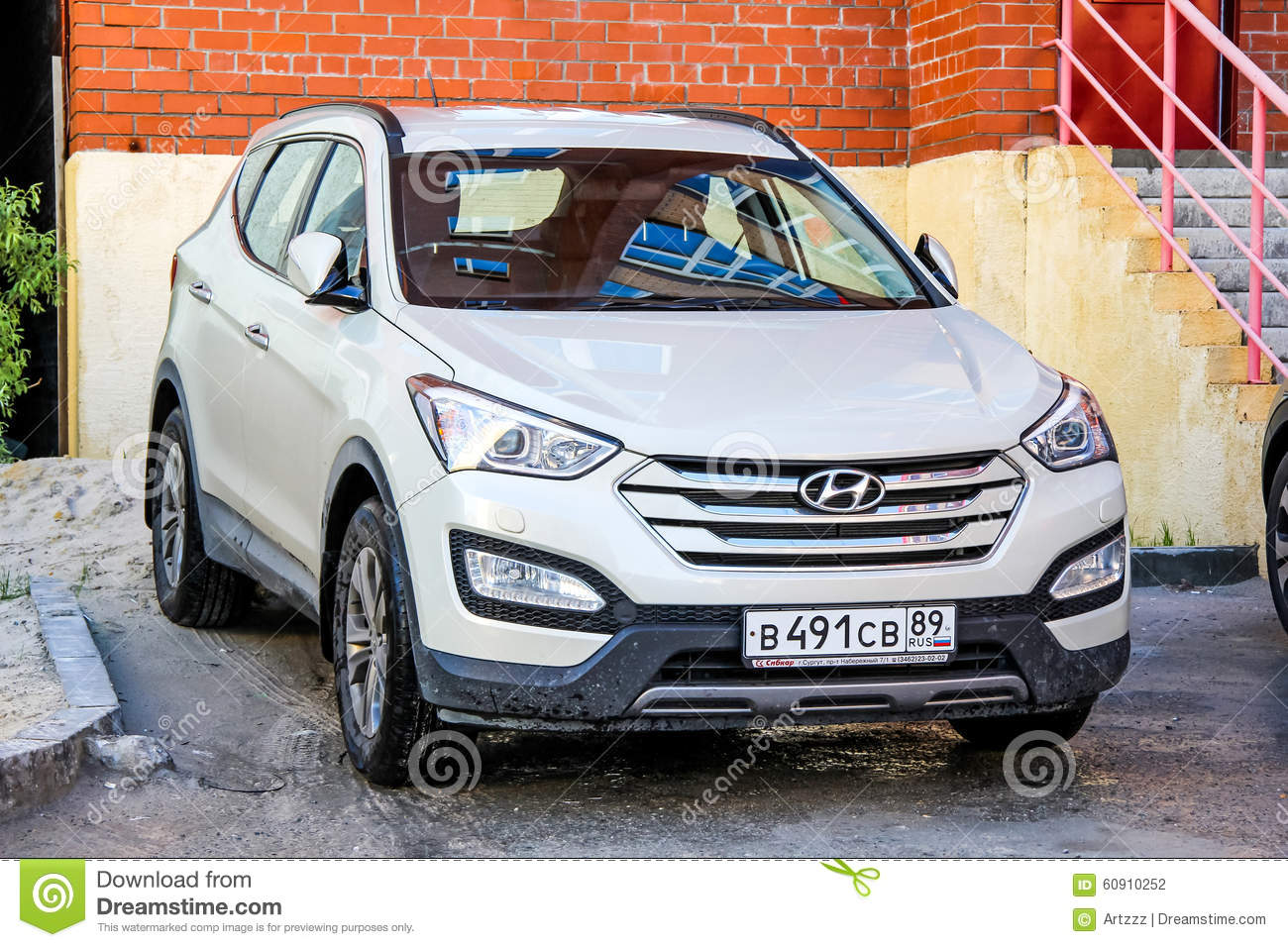 Hyundai Santa Fe Editorial Photography Image Of Hatchback