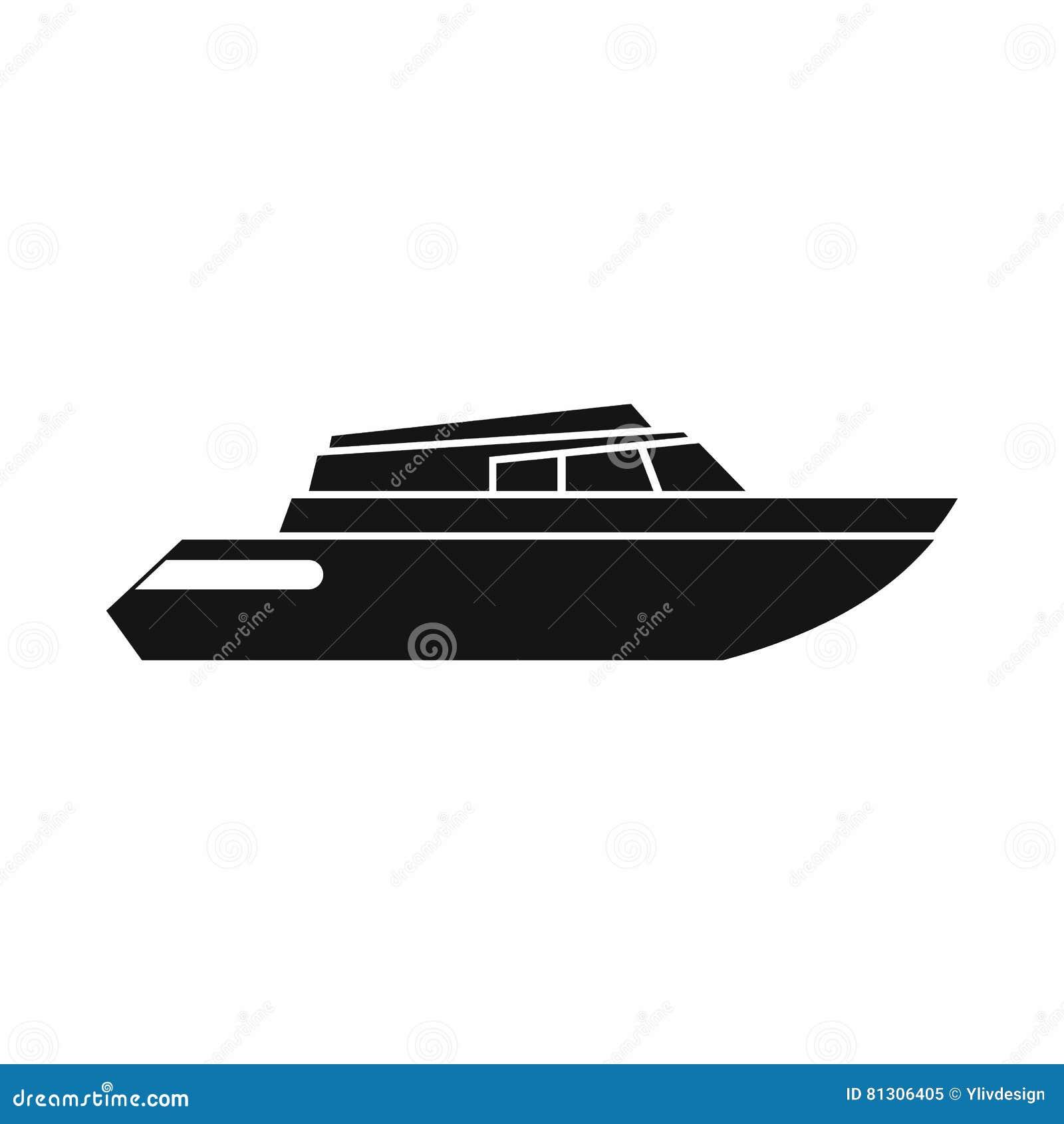 Hyvla powerboatsymbolen, enkel stil