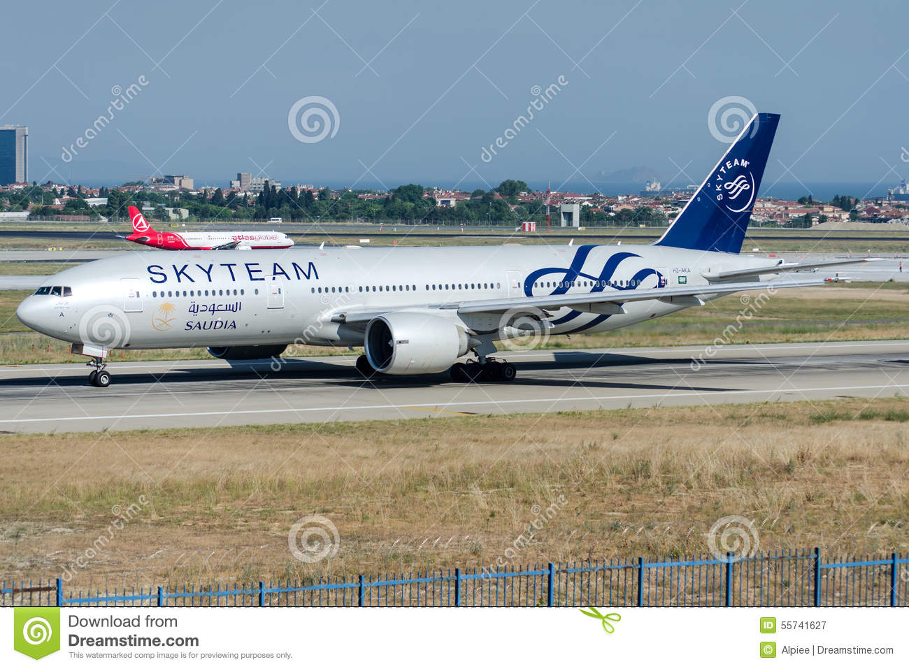 777 illustration skyteam