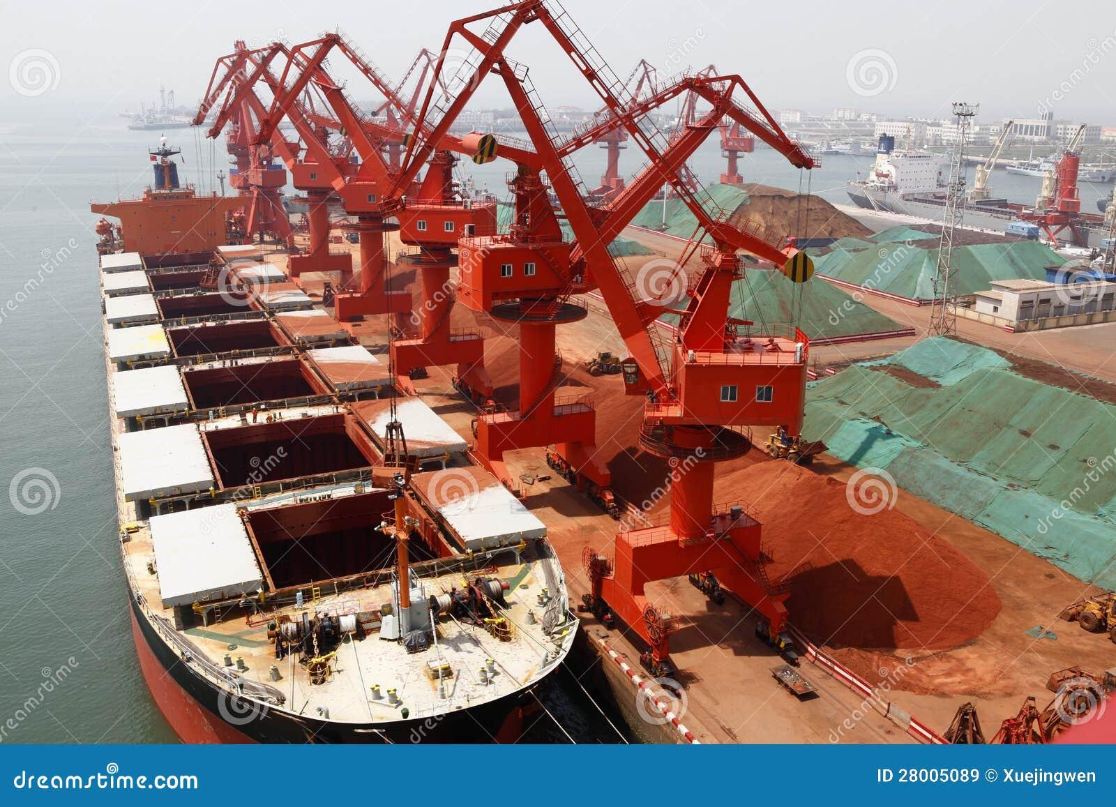 I 2012 Kina nedgång som är eftersökt för järnmalm