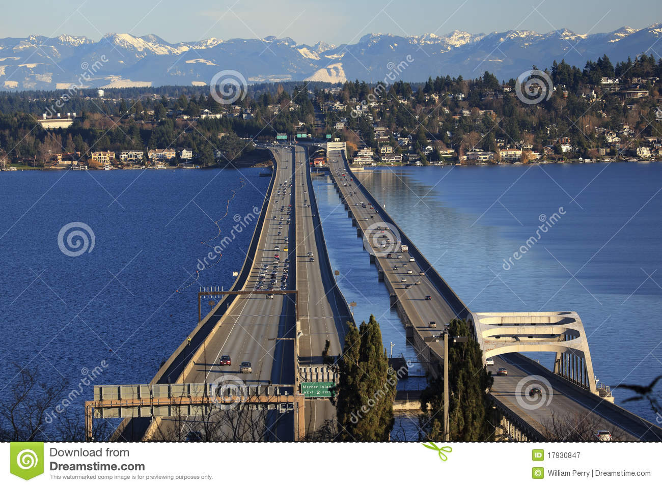 Travel Time From Mercer Island