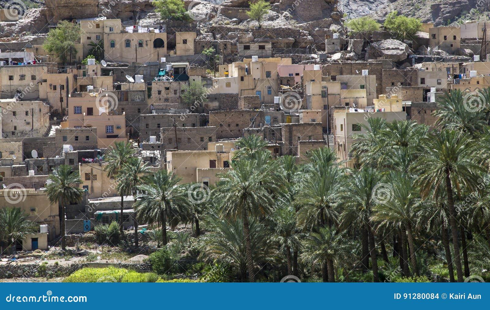 By i bergen av Oman