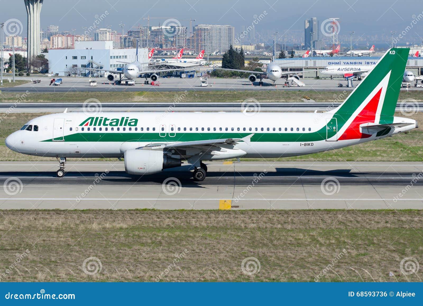 勇敢传�9bi��i_i-bikd意大利航空,空中客车a320-214 编辑类照片
