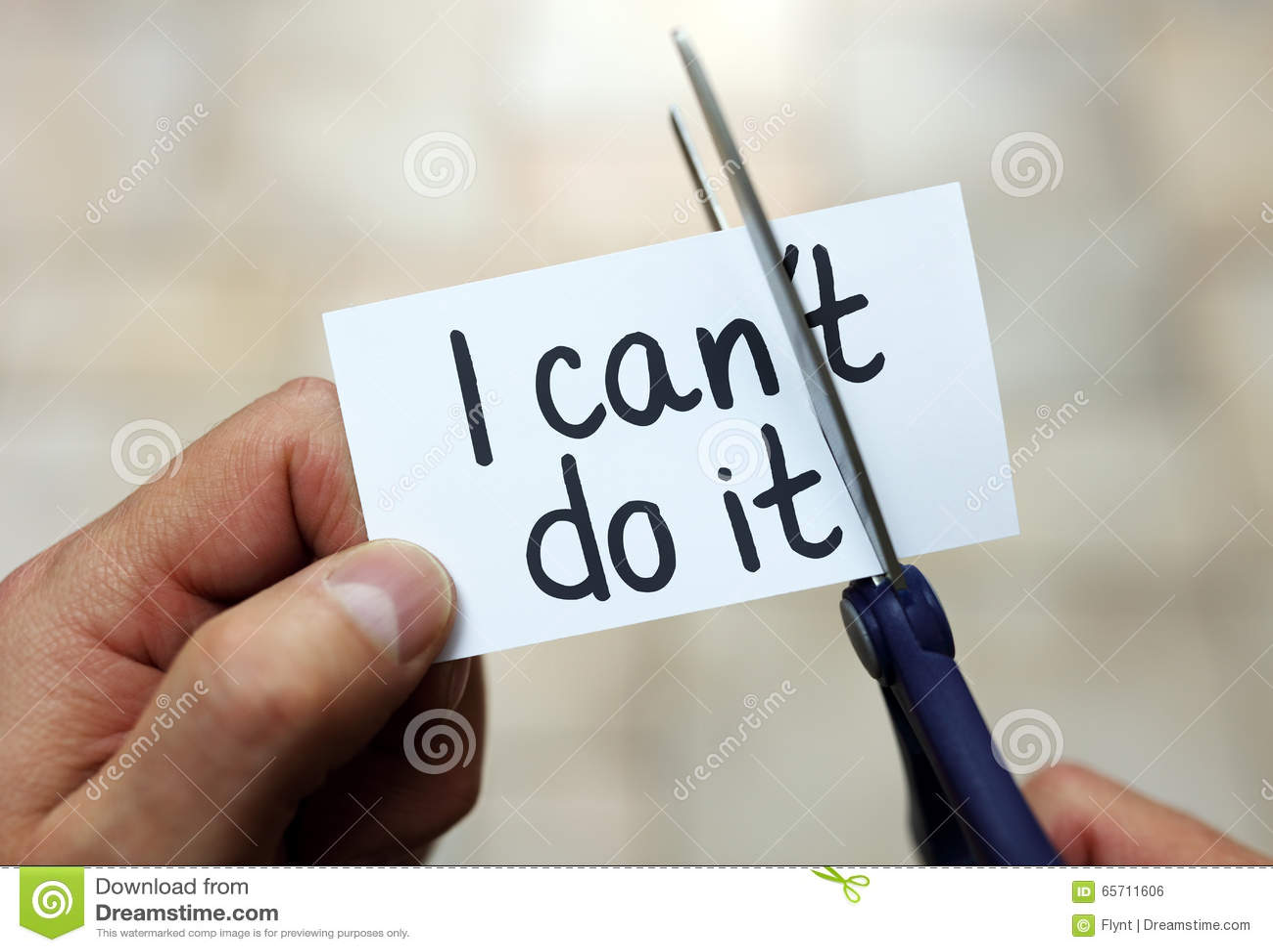 i can do it stock photo image of attitude motivation 65711606