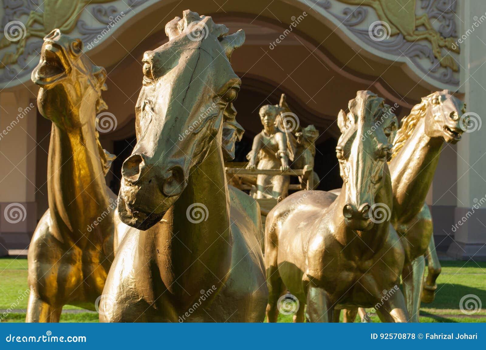 I cavalli dorati