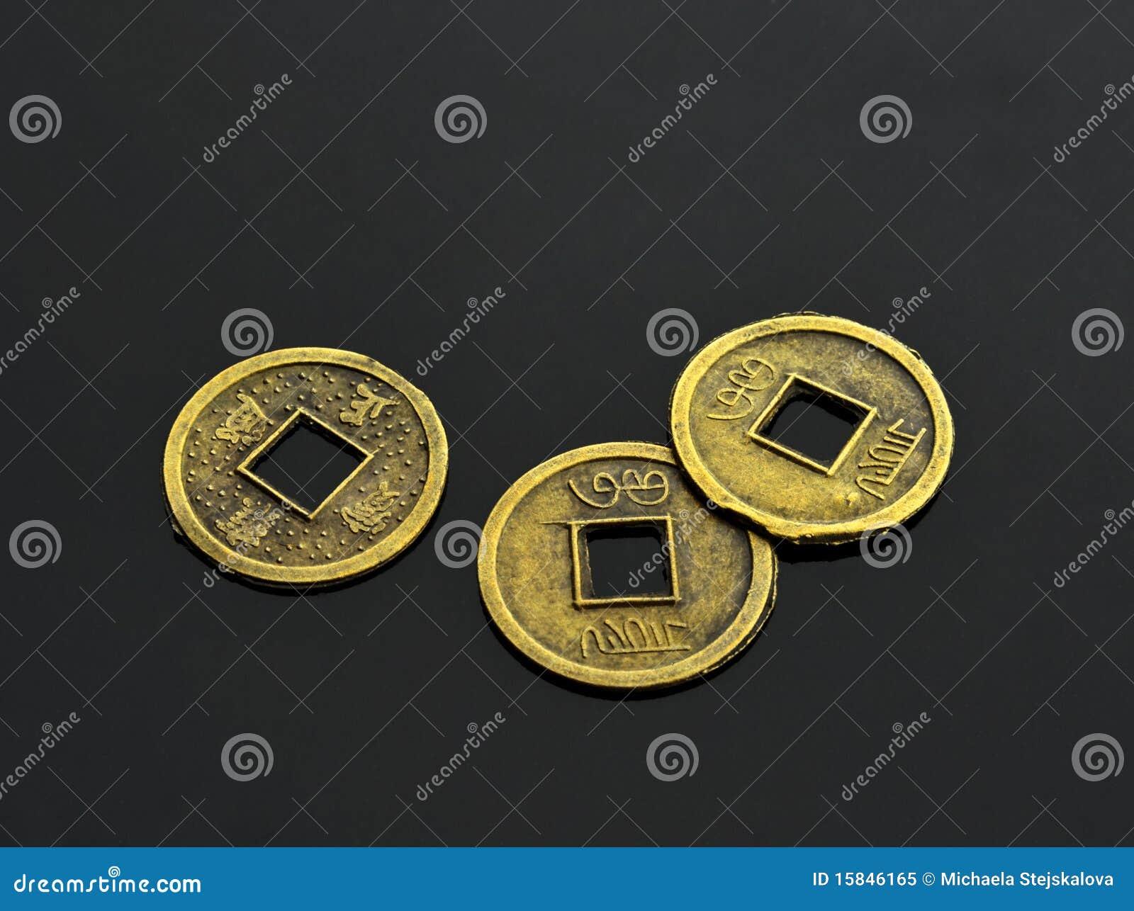 I Ching Münzen Stockbild Bild Von änderungen Antike 15846165