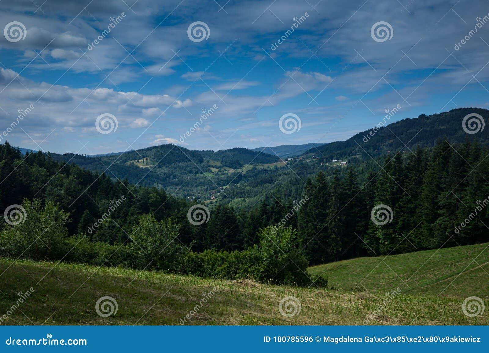 I de Beskidy bergen