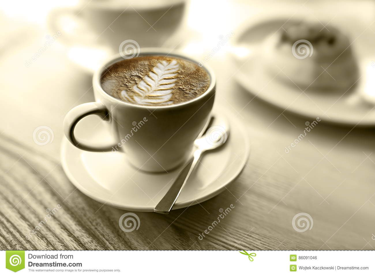 Take Break Coffeebreak : I feel like coffee let`s take a coffee break stock photo image