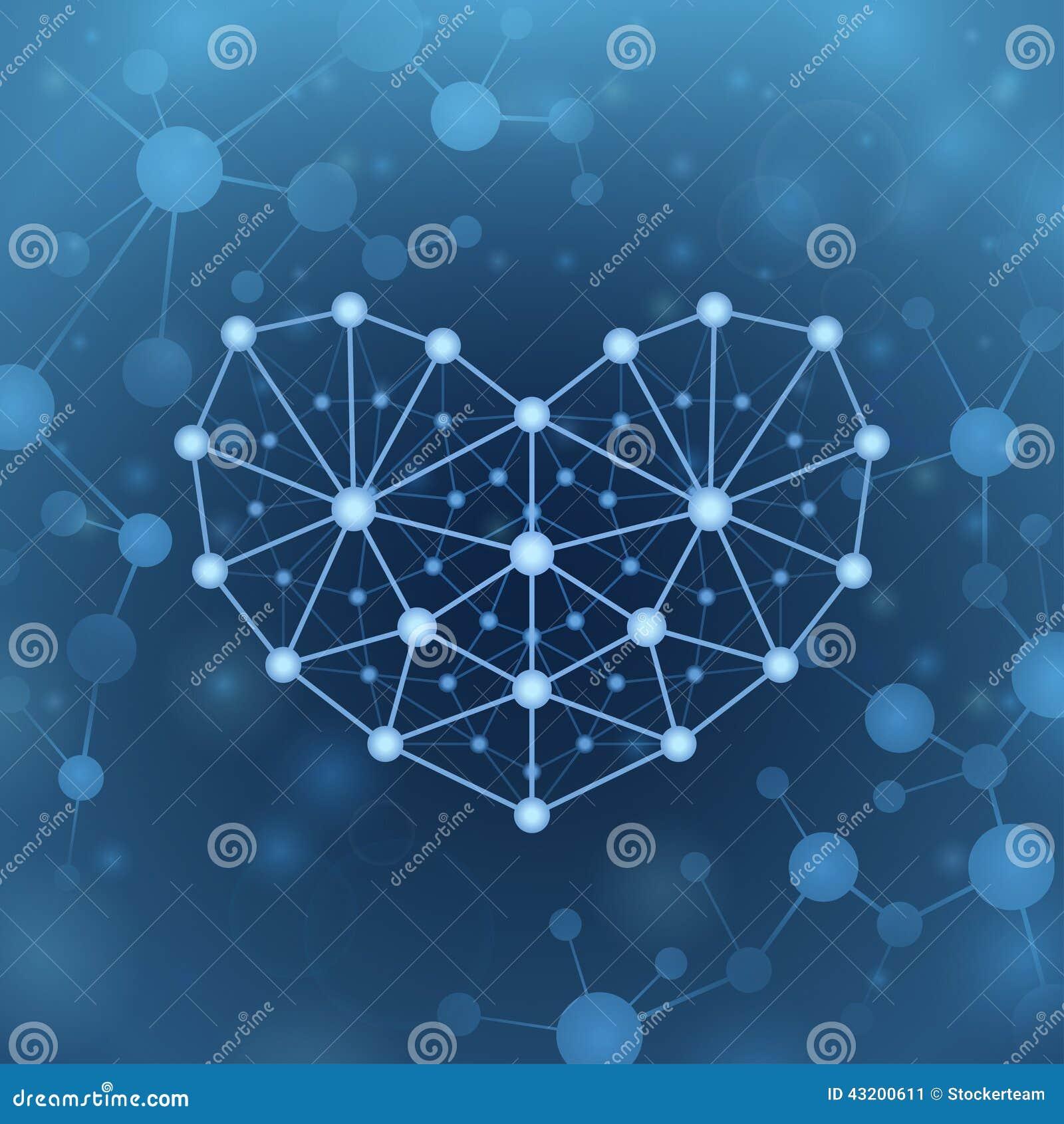 Download I formen av hjärta vektor illustrationer. Illustration av hjärta - 43200611
