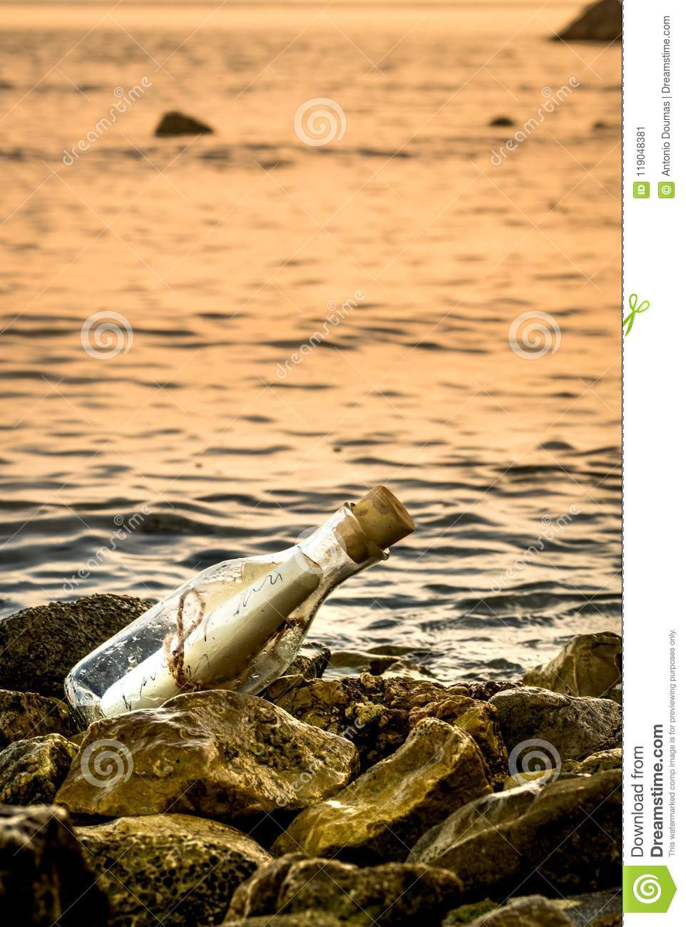 i found a message in a bottle love letter old letter in a bottle a letter from a bottle floating note discoverie message inside the bottle was a