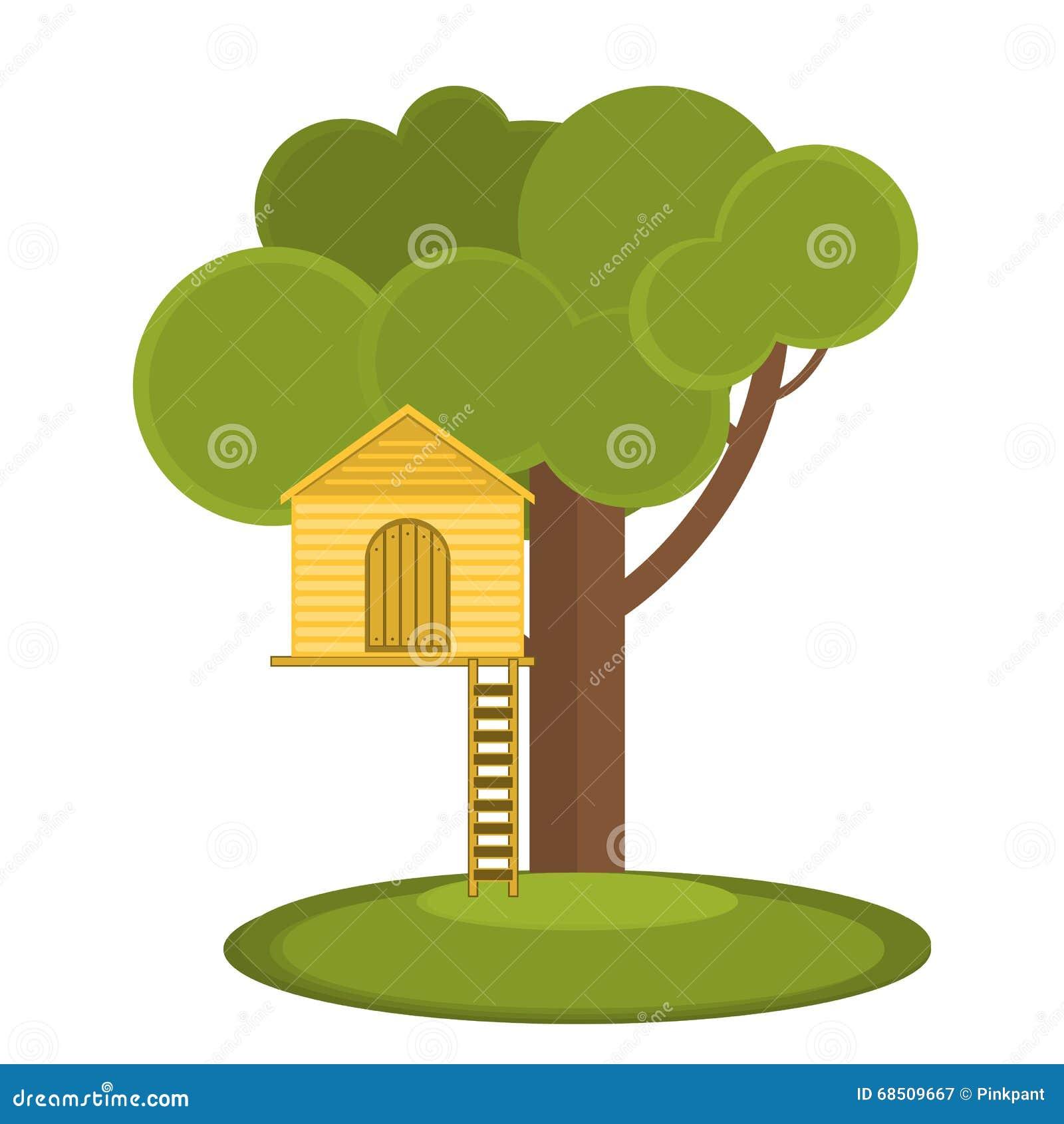 I giochi dei bambini della casa sull 39 albero casetta per for Planimetrie della casa sull albero