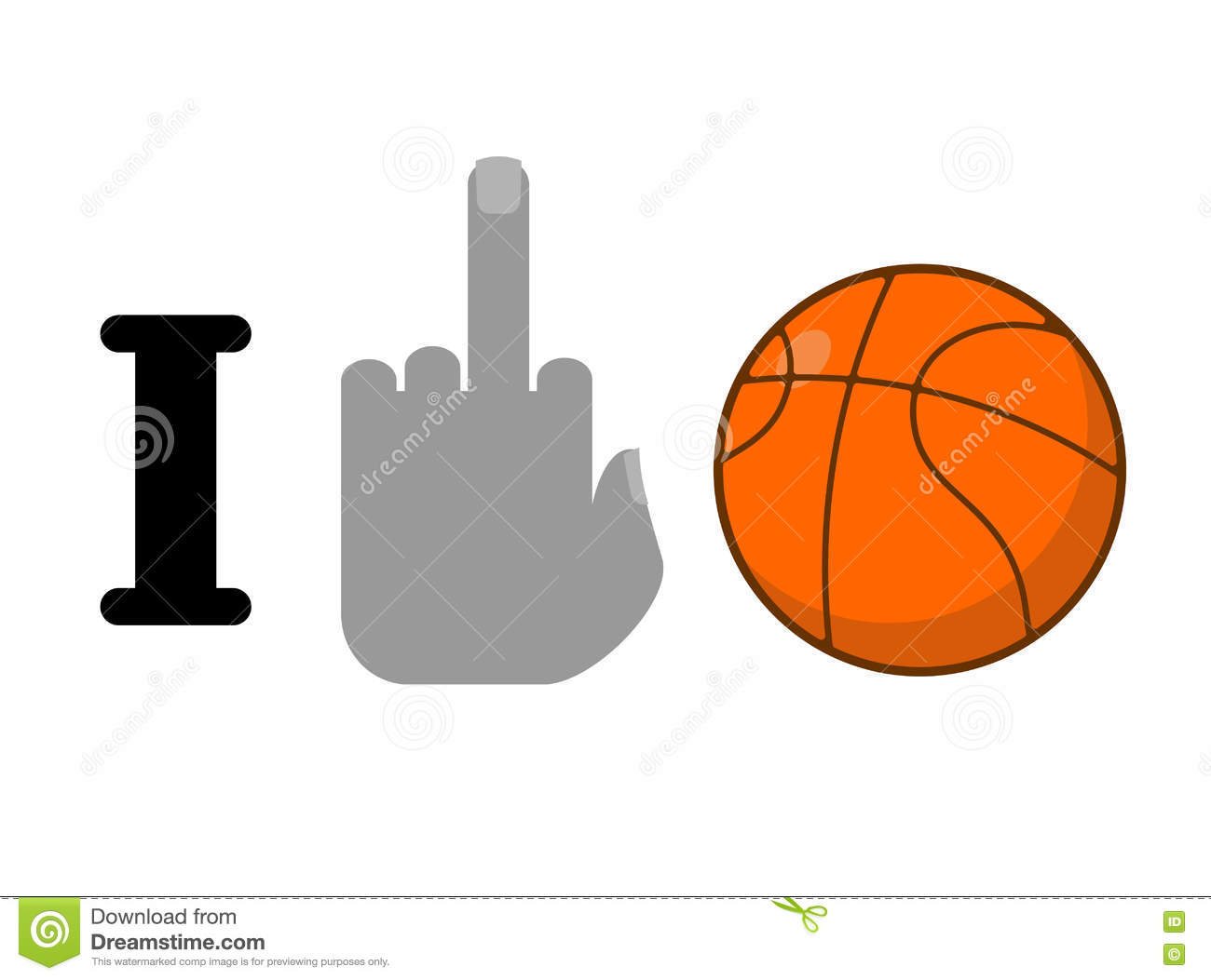 I hate basketball symbol of hatred and ball logo for anti stock i hate basketball symbol of hatred and ball logo for anti biocorpaavc Choice Image