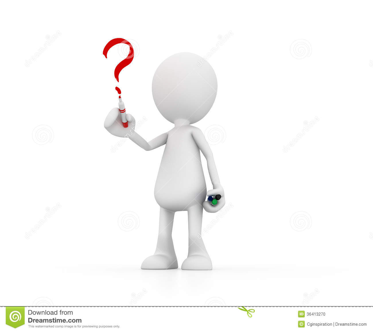 I Have A Question Stock Photo - Image: 36413270