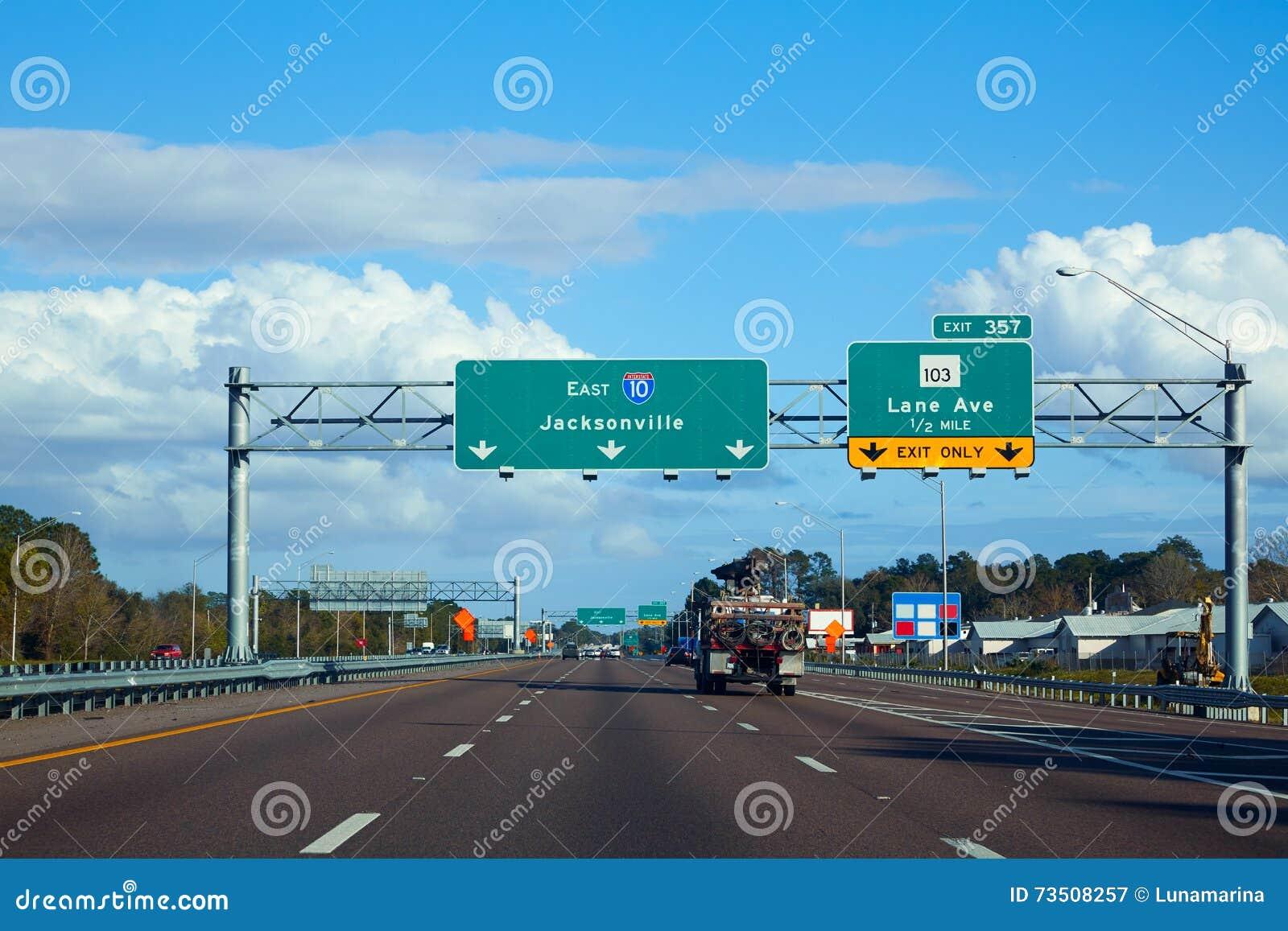 Major Work Begins Monday On I Highway Interchange Map Usa - Us interstate 10 map