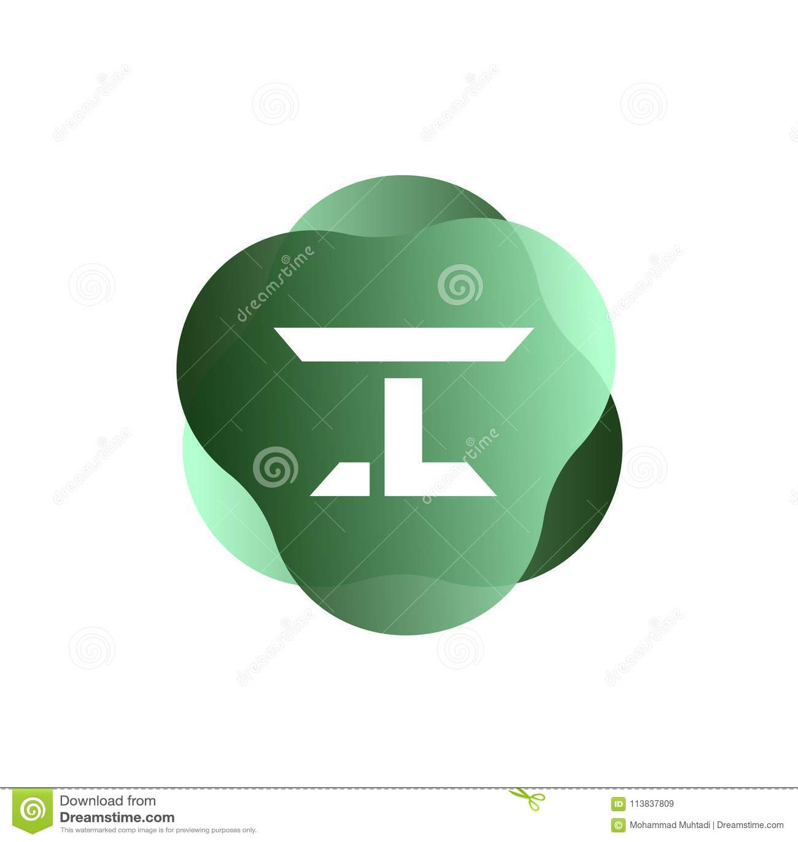 I Letter Logo