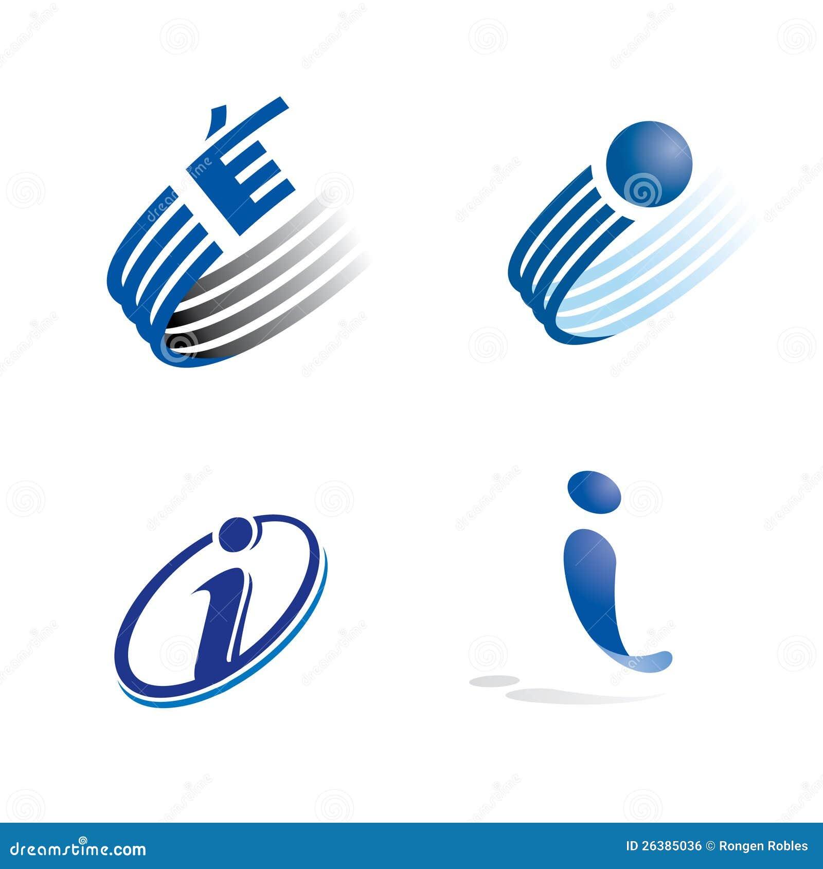 I logo stock illustration. Illustration of lines, logos ...