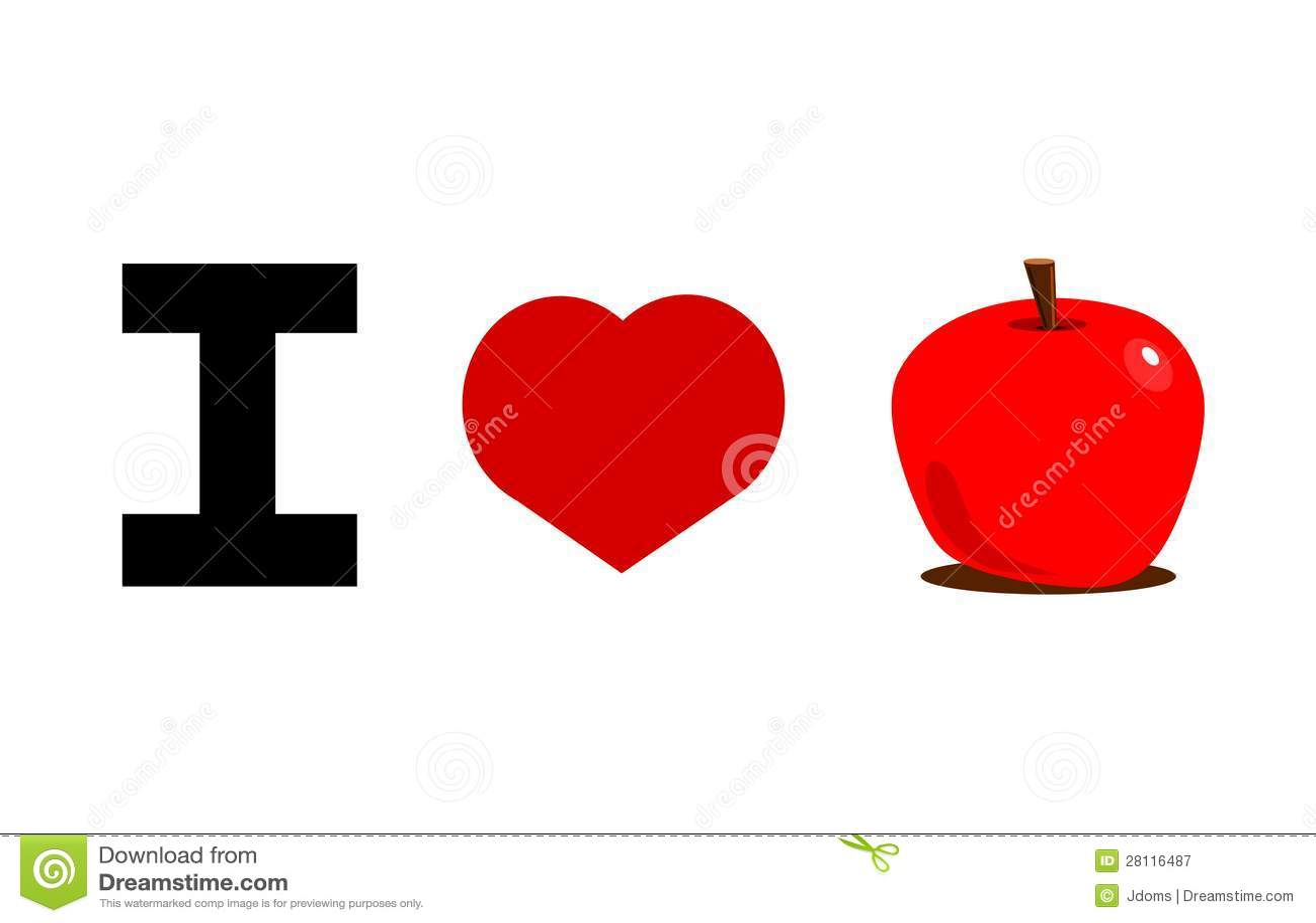 I love apples )