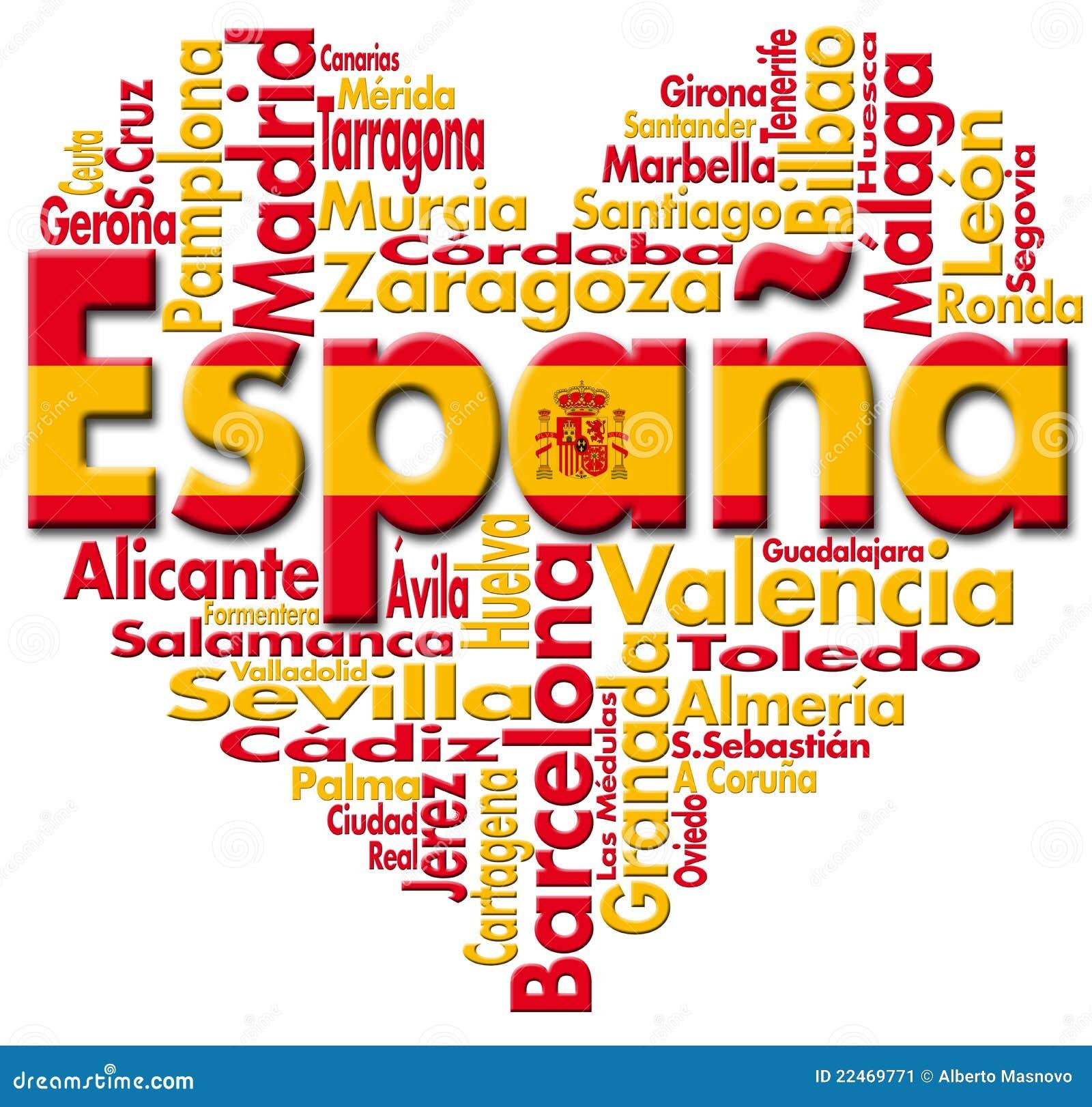I Love España Stock Image - Image: 22469771