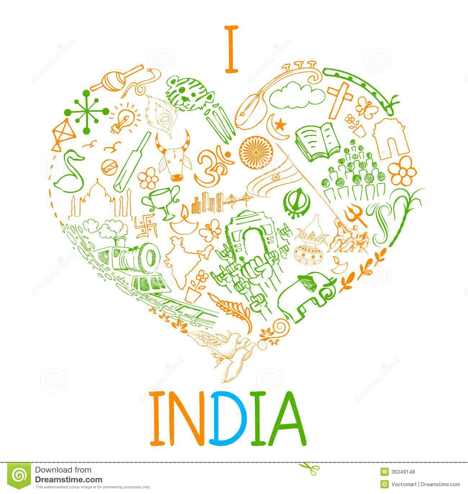 detail i love india - photo #28