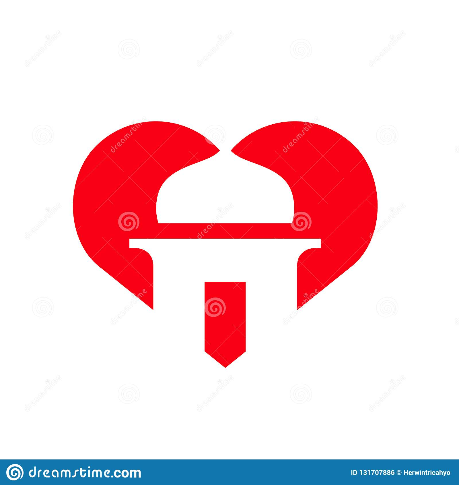 I Love Islam, Mosque Symbol Combined With Heart Shape ...