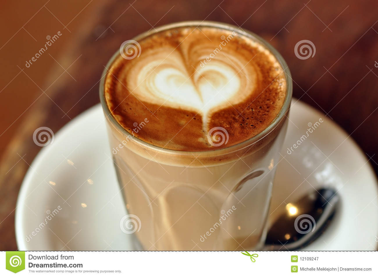 Love Latte Royalty Free Stock Photography - Image: 12109247