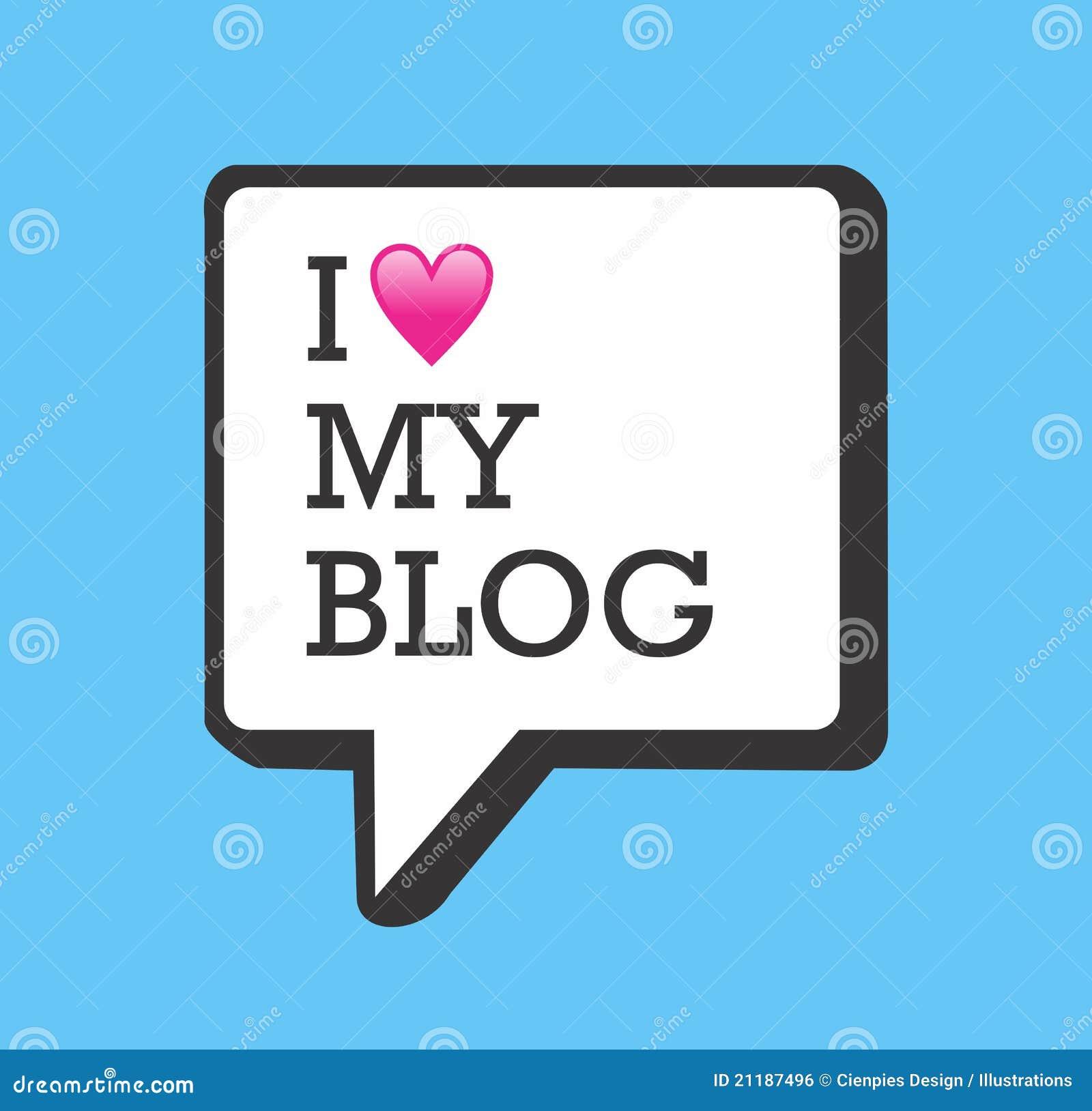 I love my blog bubble