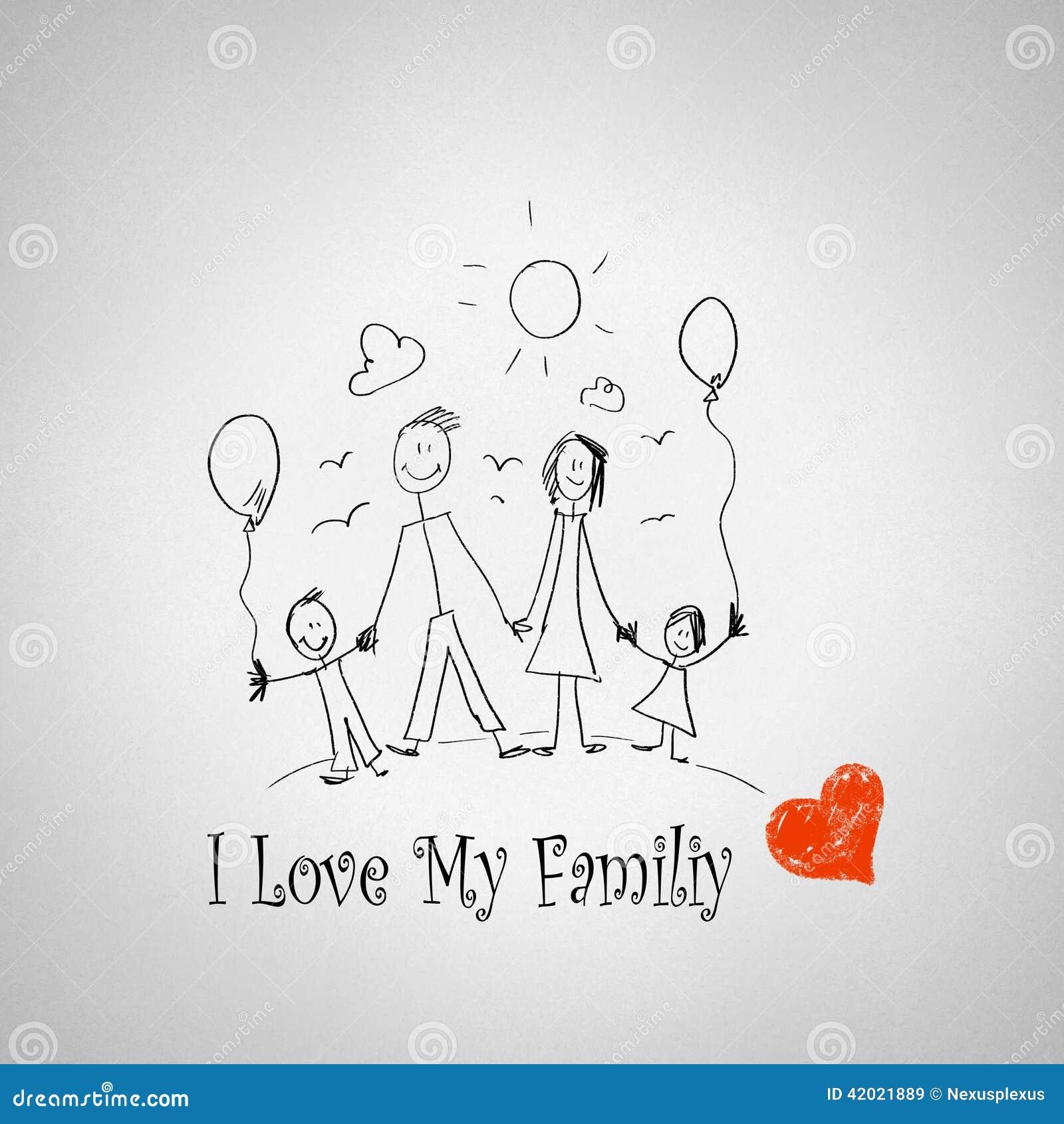 essay on i love my family