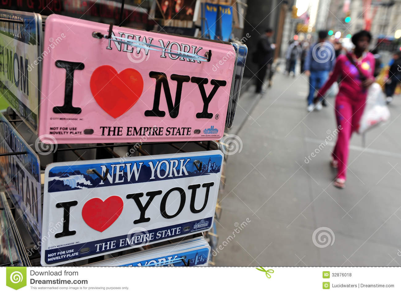 I love New York Signs